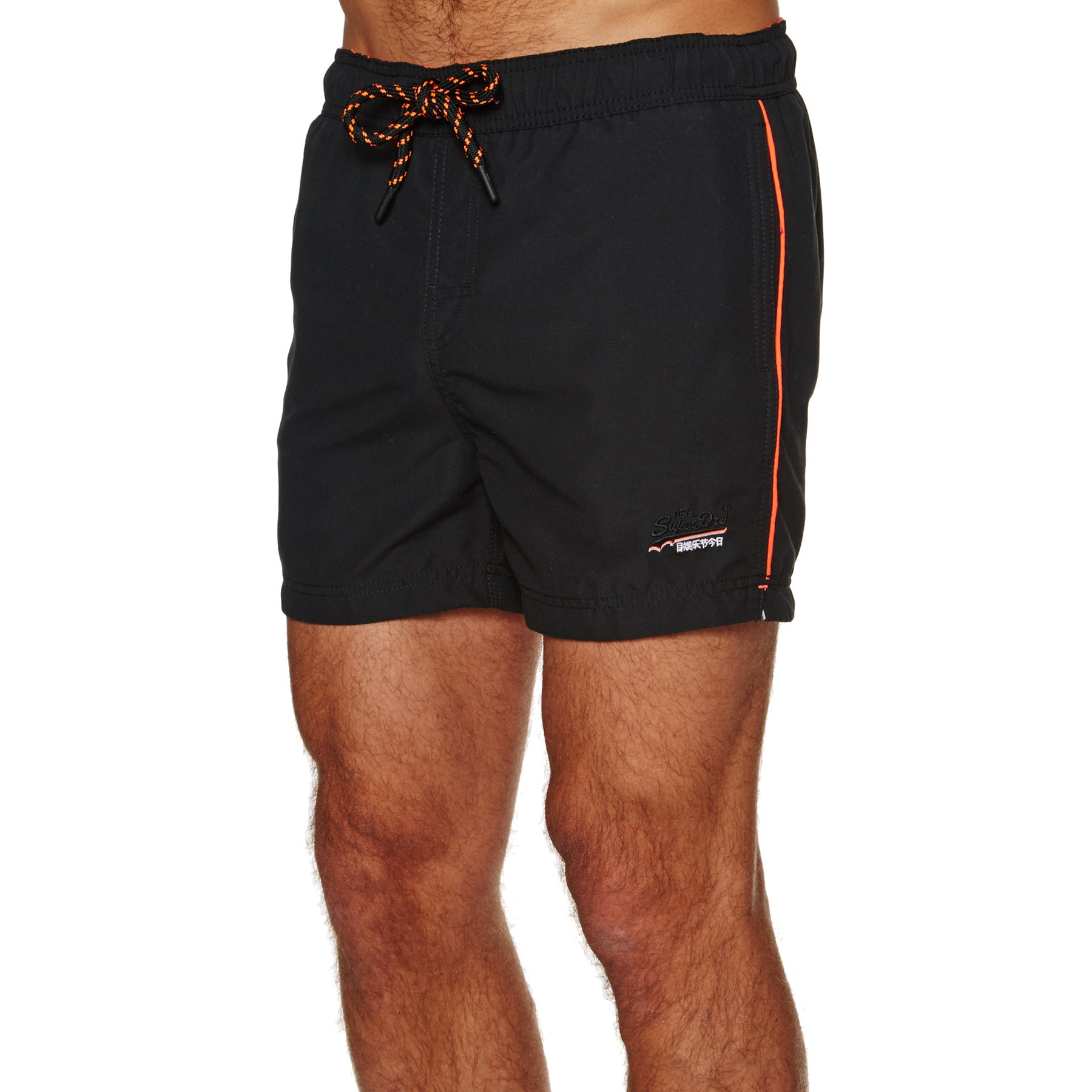 Superdry Beach Volley Swim Shorts - Black