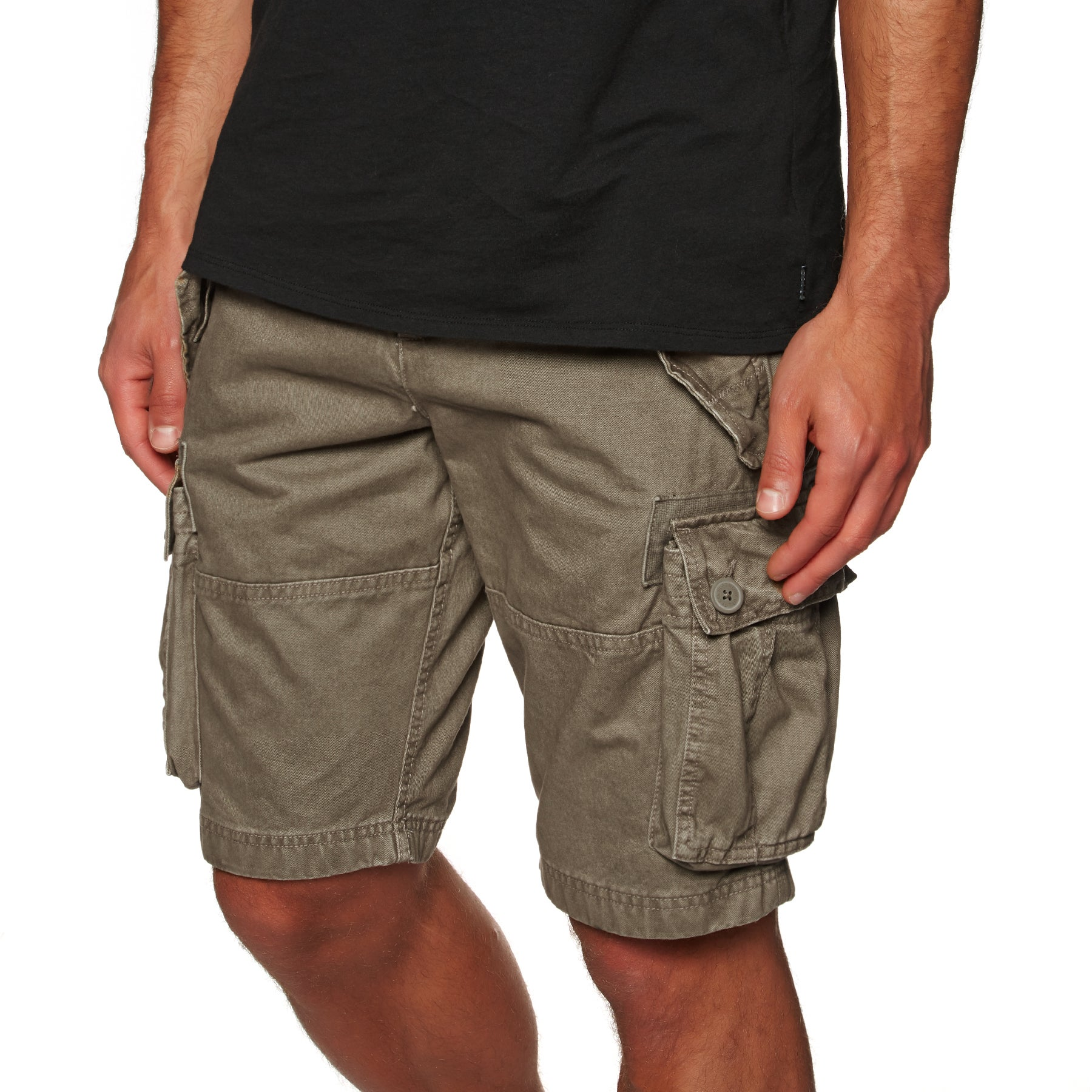 Superdry Core Cargo Heavy Walk Shorts - Dust Cloud