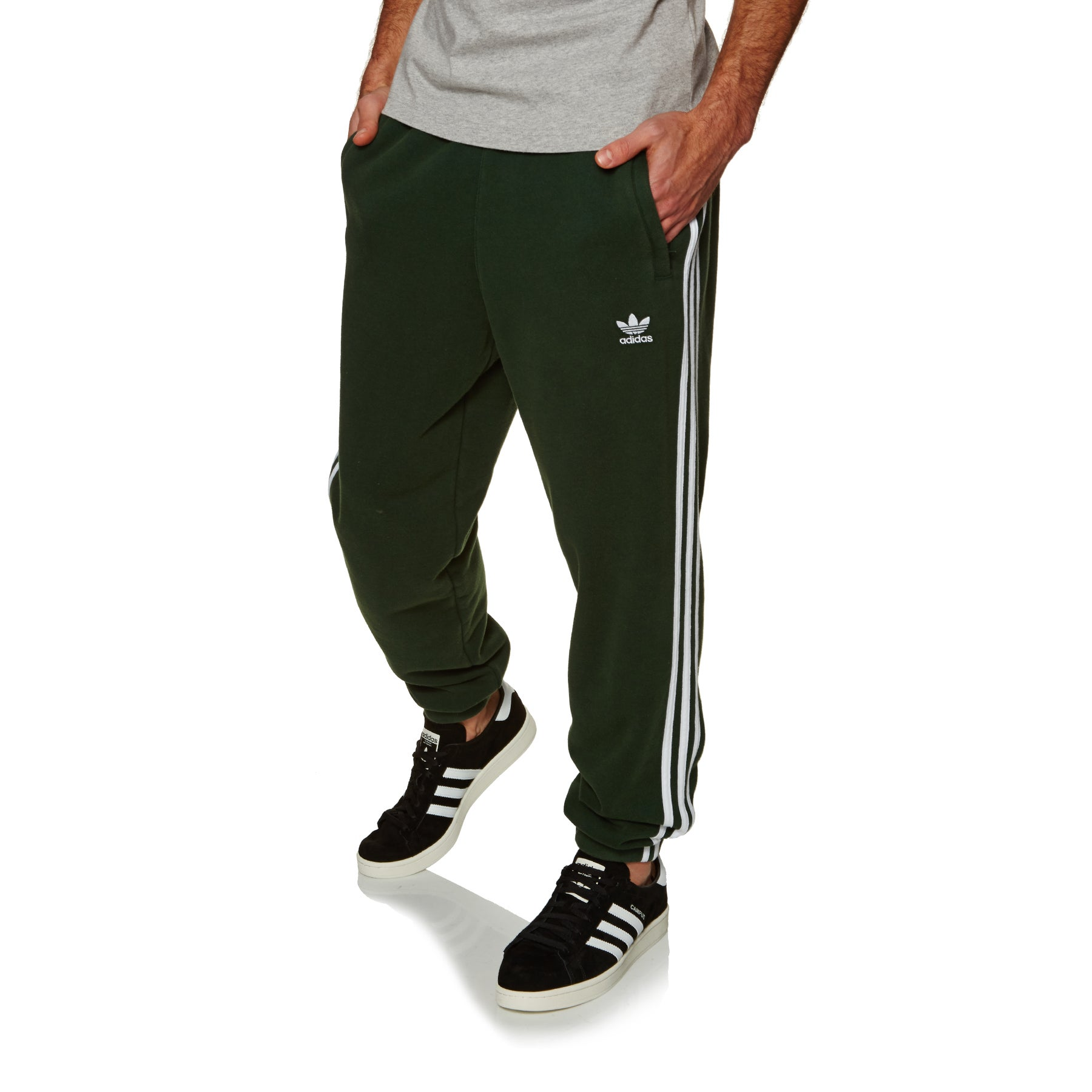 Adidas Originals 3 Stripe Loungewear - Green Night