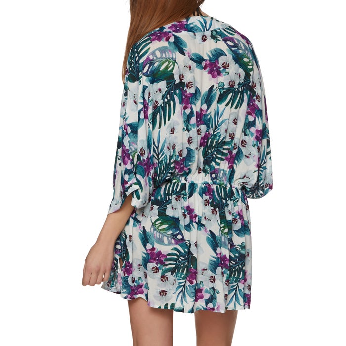 Nine Islands Kimono Womens Dress