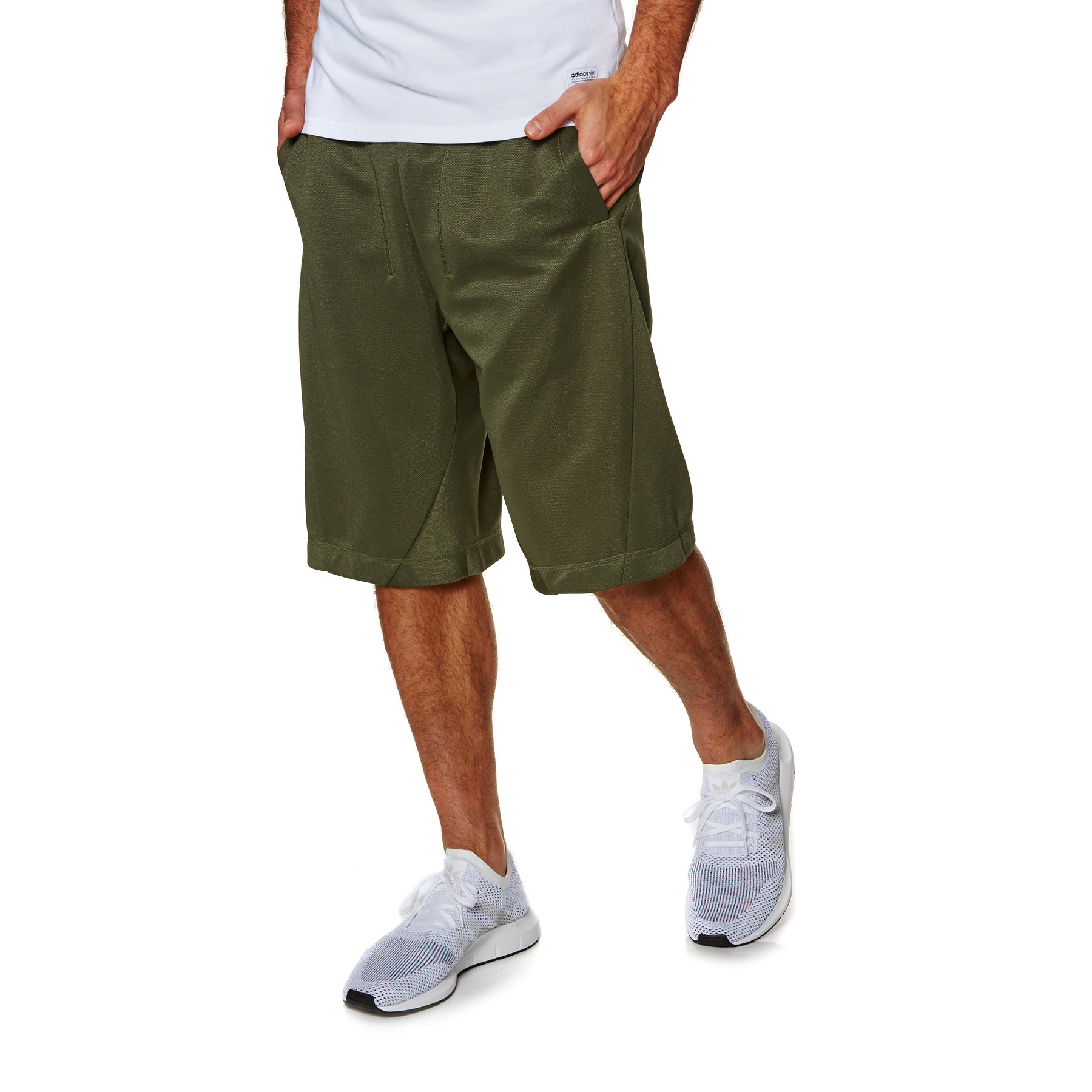 Shorts pour la Marche Adidas Originals X By O Short - Olive Cargo F16
