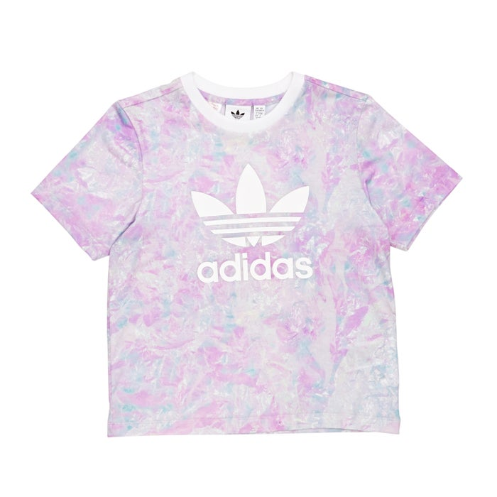 b5a1a4087 Adidas Originals Graphic Girls Short Sleeve T-Shirt | Free Delivery ...