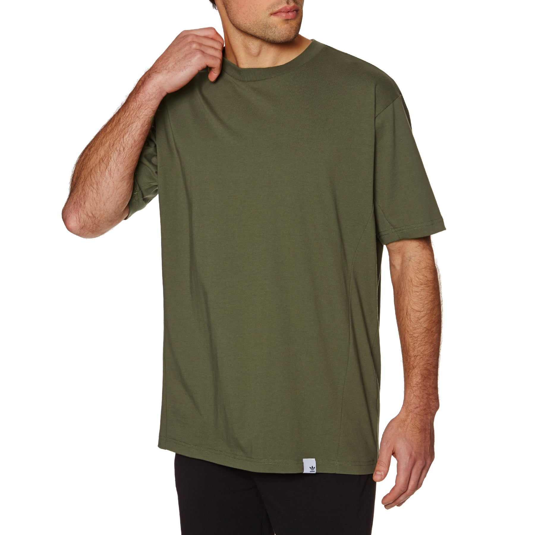 Adidas Originals X By O Short Sleeve T-Shirt - Olive Cargo F16