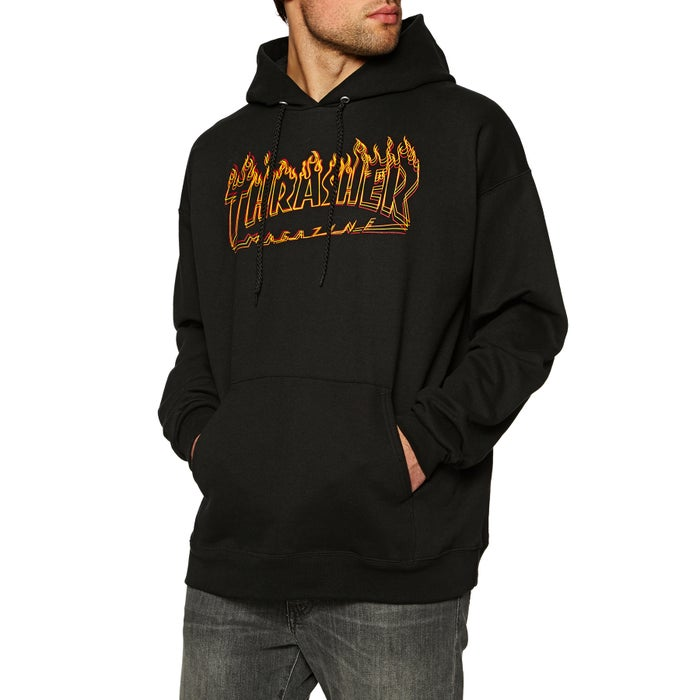 cdcd758e1e29 Thrasher Richter Pullover Hoody available from Surfdome
