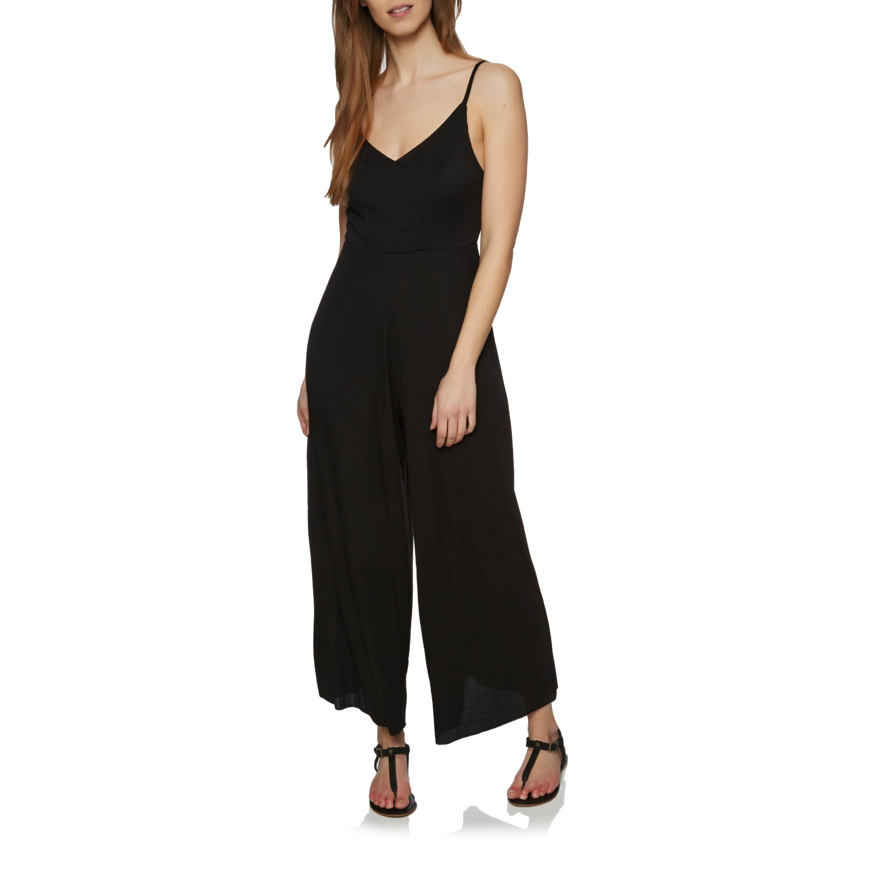 Playsuit SWELL Delta Strappy - Black
