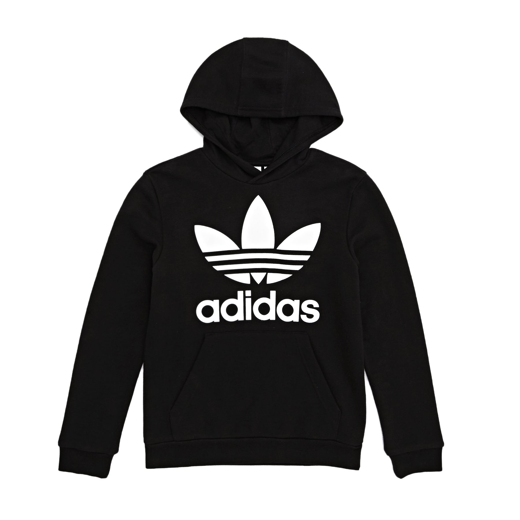 Adidas Originals Trefoil Boys Pullover Hoody - Black/white