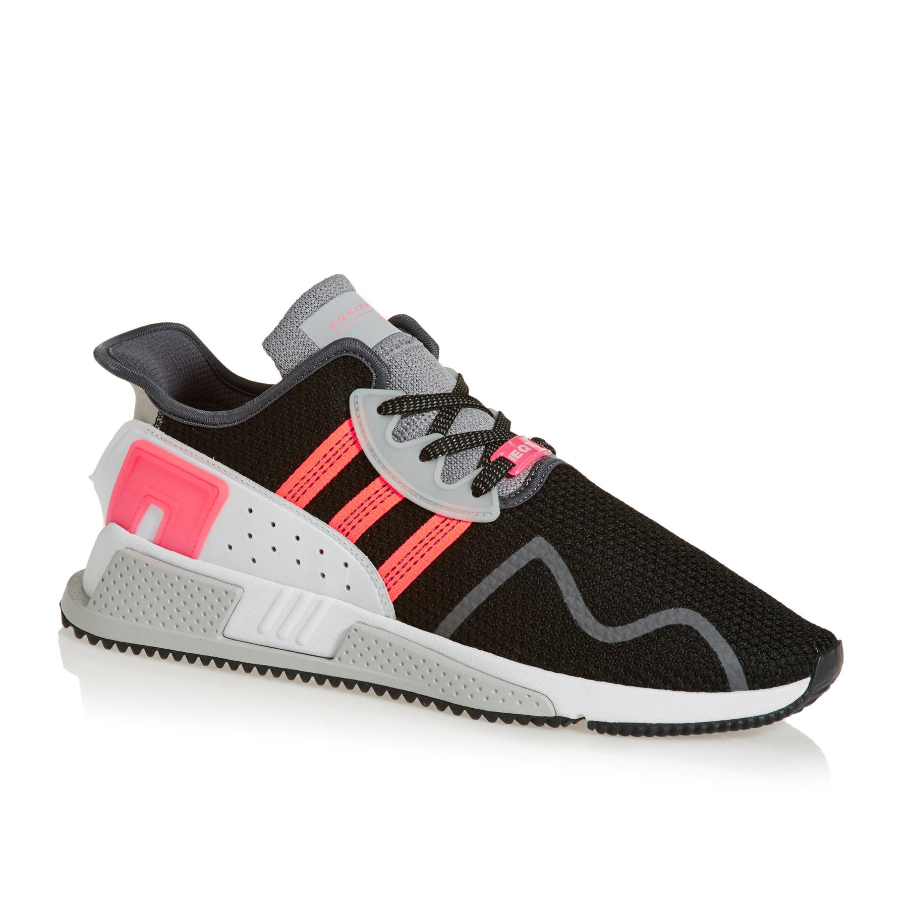 Adidas Originals EQT Cushion Adv Shoes - Black White Pink