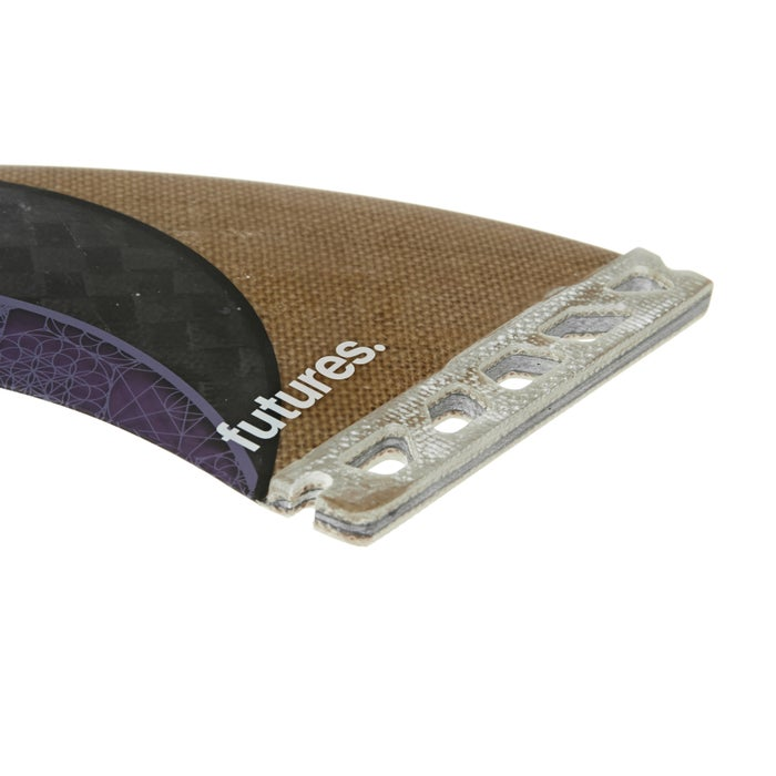 Futures Rasta Honeycomb Twin Fin