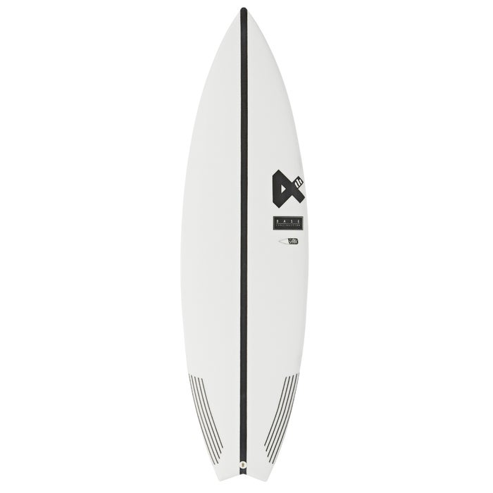 Fourth Surfboards Belly Shank Base Construction FCS II 3 Fin Surfboard