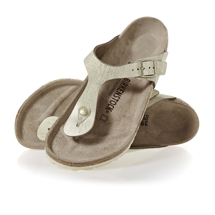 51cc2753b48 Birkenstock Gizeh Leather Regular Womens Sandals available from Surfdome