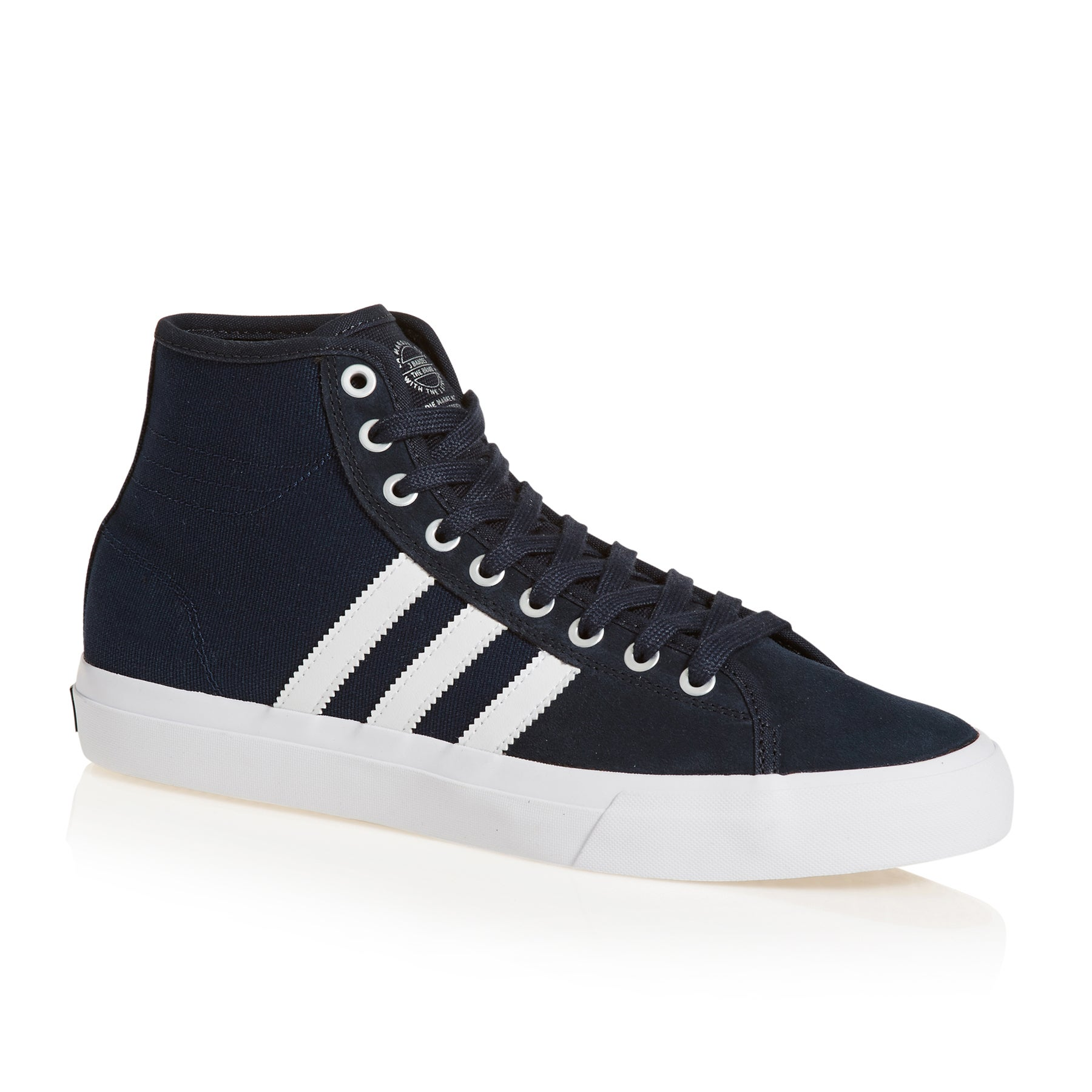 Adidas Matchcourt High Rx Shoes - Night Navy White