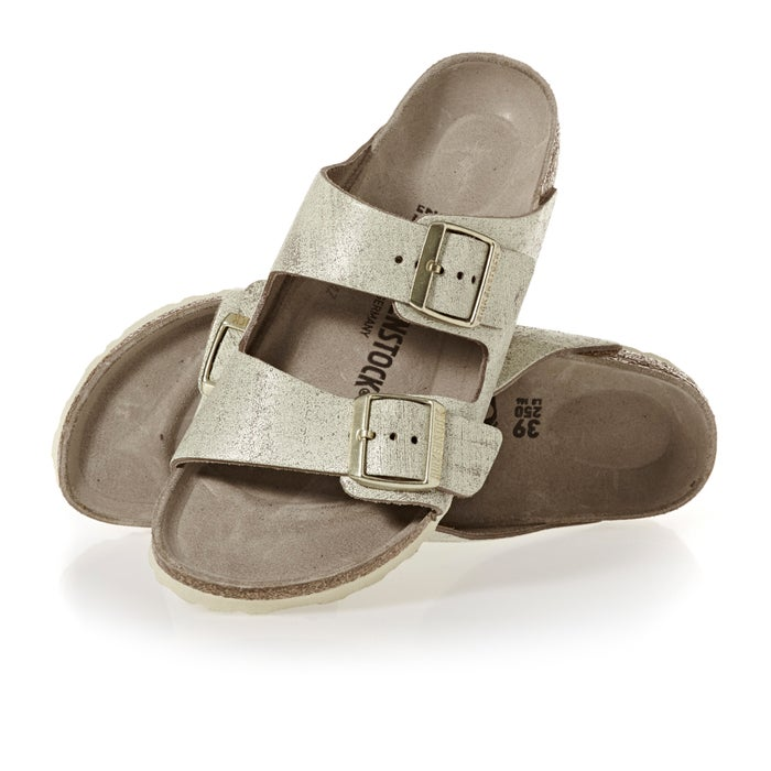 a7a21ee48 Birkenstock Arizona Leather Narrow Sandals | Free Delivery Options