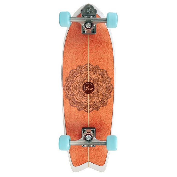 Patinete YOW Huntington Beach High Performance Series Surfskate - Multicolour
