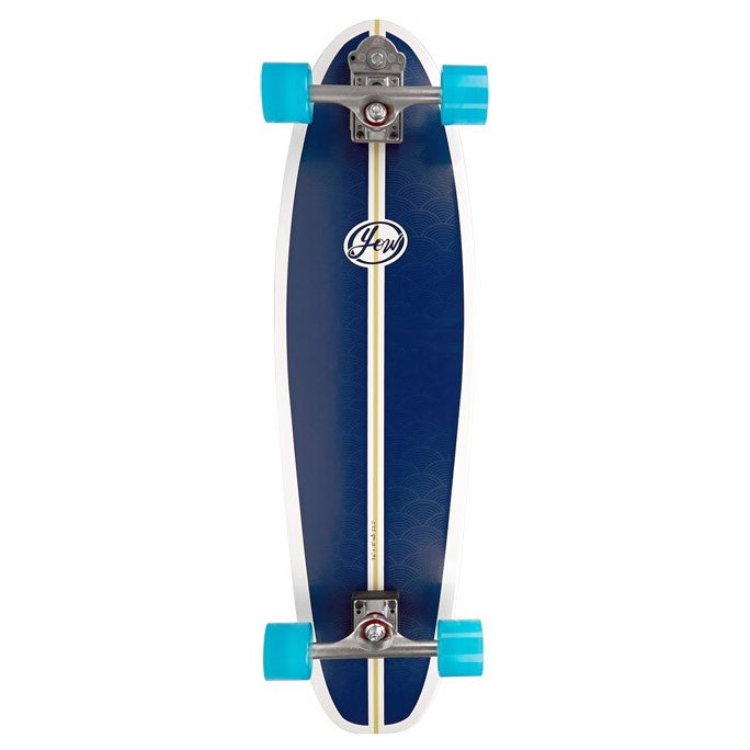 Surf Skateboard YOW Mini Malib Classic Series - White