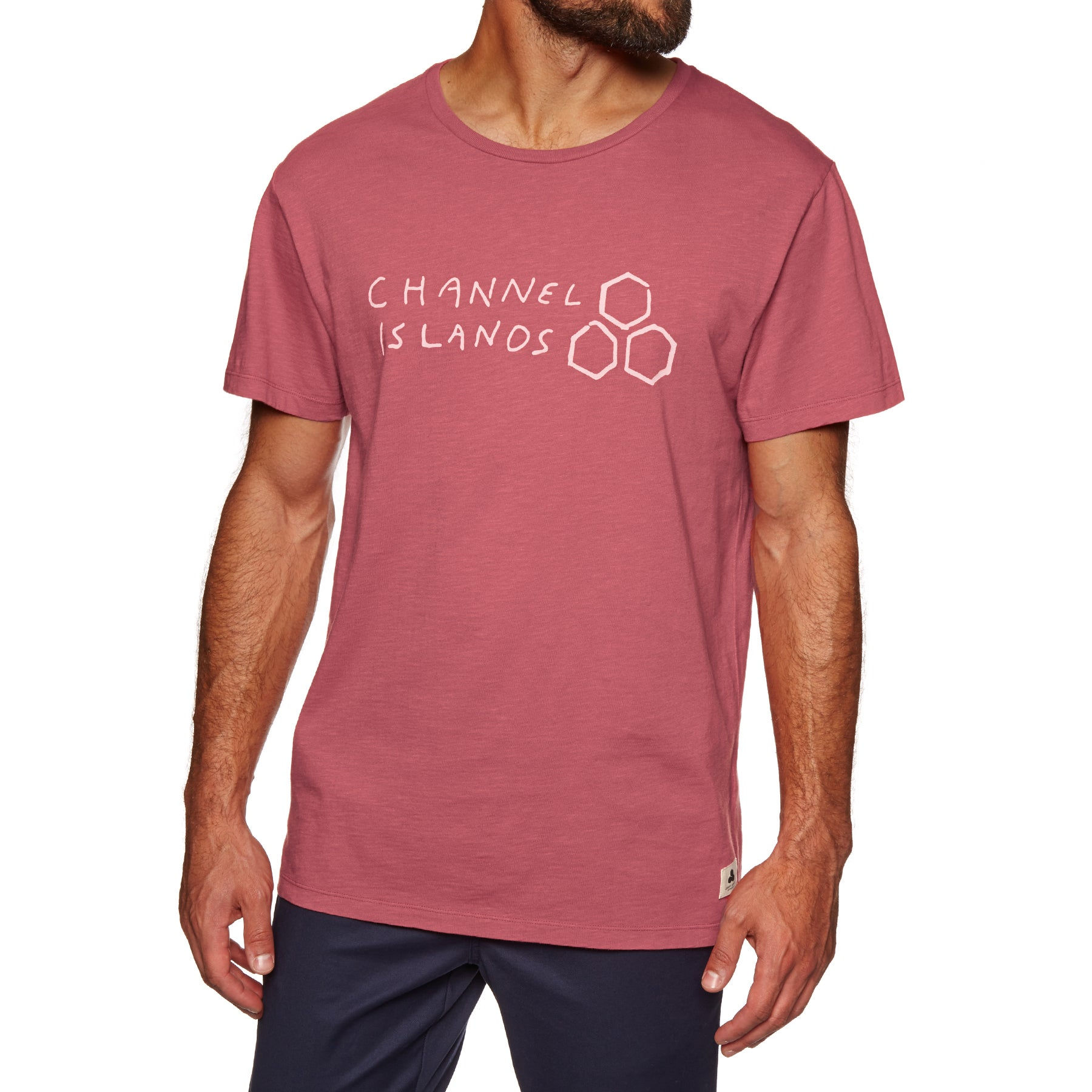 T-Shirt à Manche Courte Channel Islands Hand Made - Red