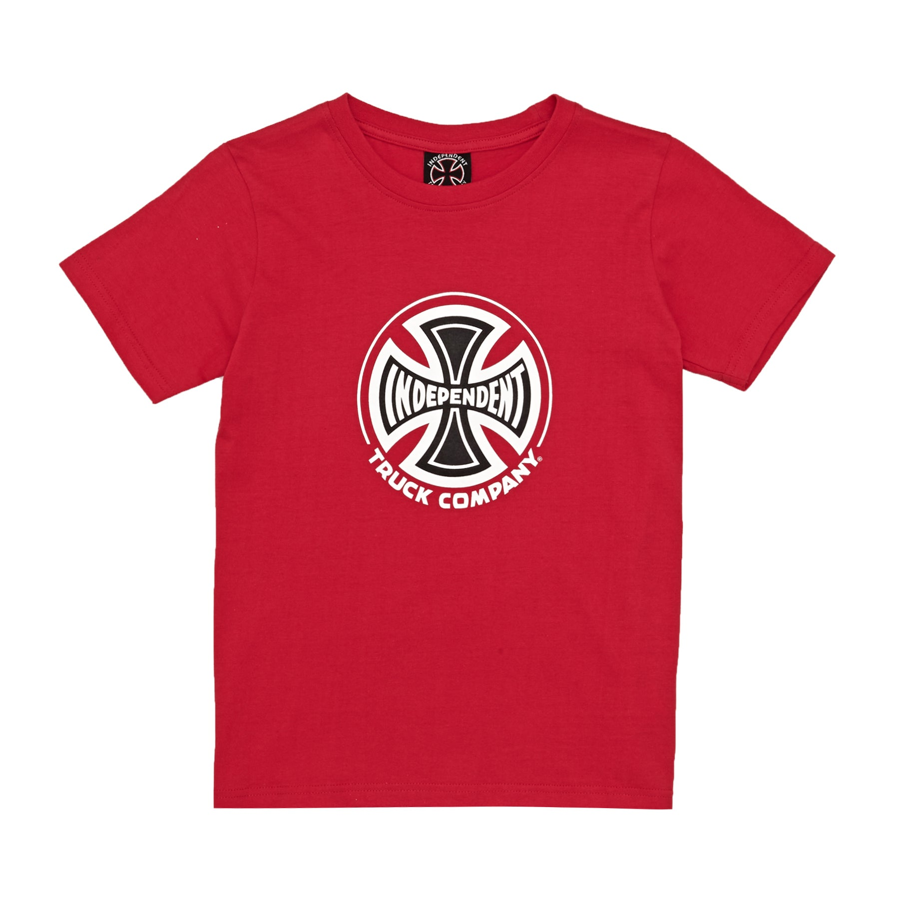Camiseta de manga corta Independent Youth Truck Co - Red
