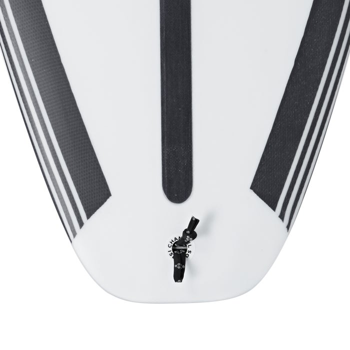 Surfboard Channel Islands Black And White Futures Thruster