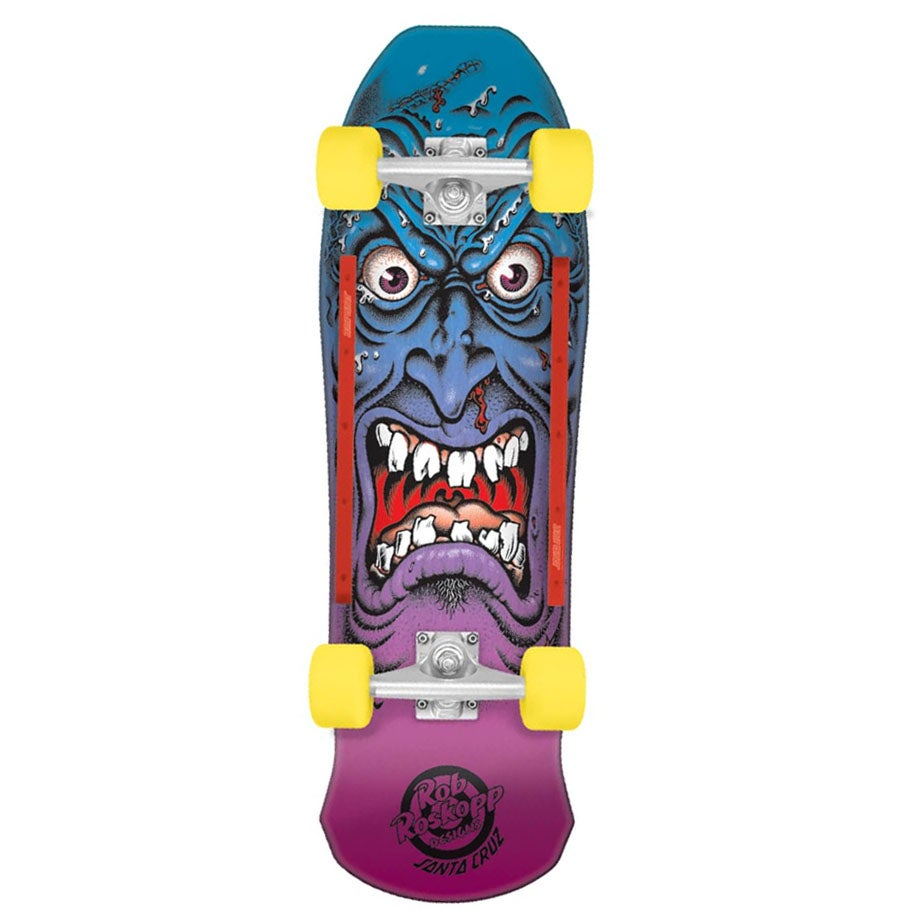 Patinete Santa Cruz Cruzer Roskopp Rob Face 31in - Multi