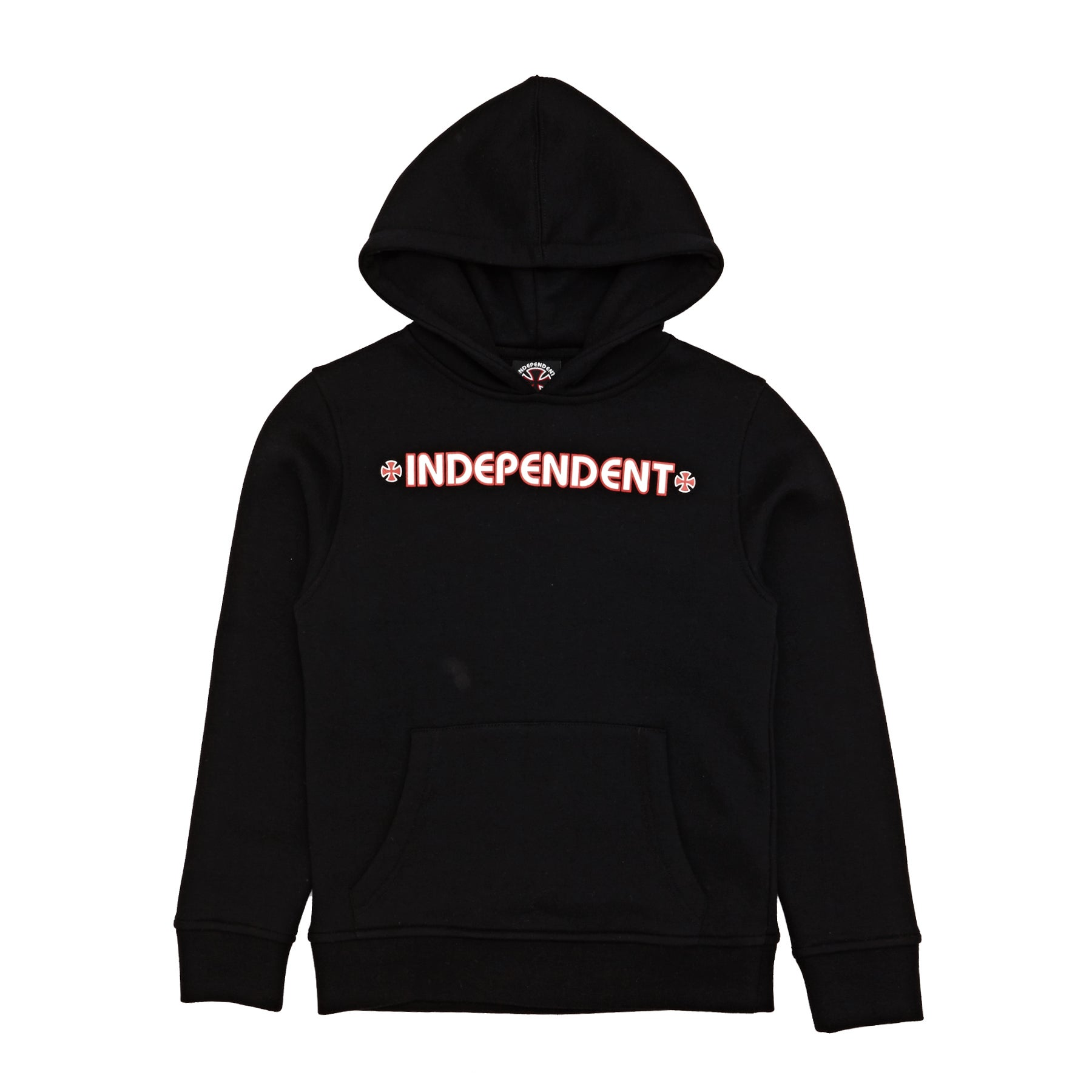 Jersey con capucha Independent Youth Bar Cross Hood - Black
