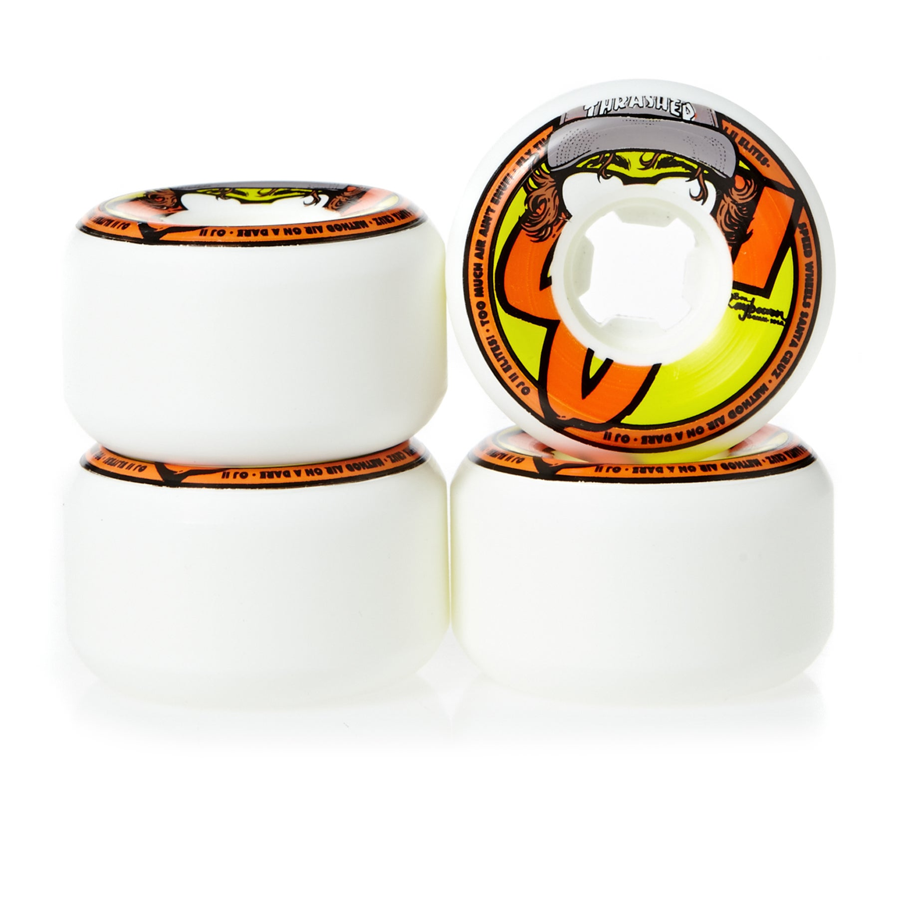 Ruedas de patinete OJ Hard Line Raybourn Insaneathane 101a 54mm Set of 4 - White