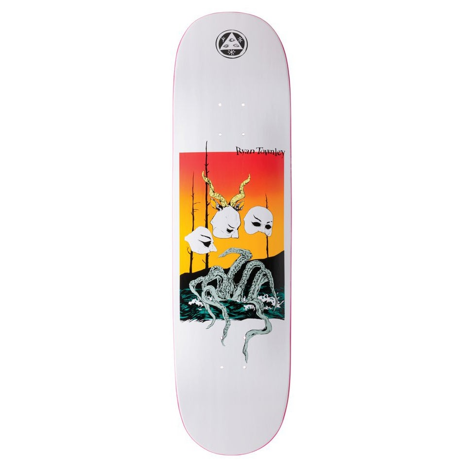Welcome Ryan Townley Masquerade on Enera 8.5in Skateboard Deck - White