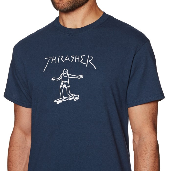 35692ebd2591 Thrasher Gonz Short Sleeve T-Shirt available from Surfdome