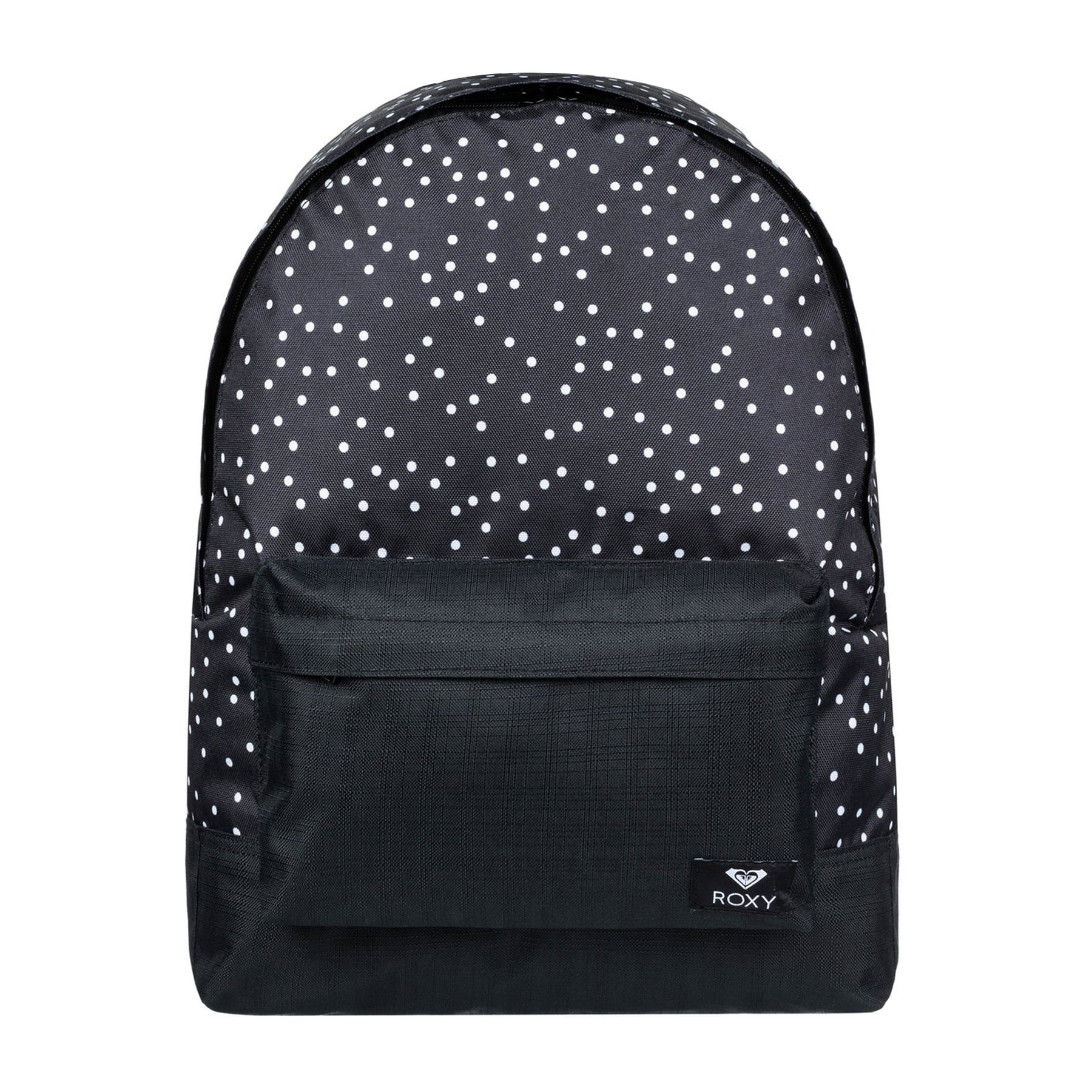 Roxy Sugar Baby Womens Backpack - True Black Dots For Days