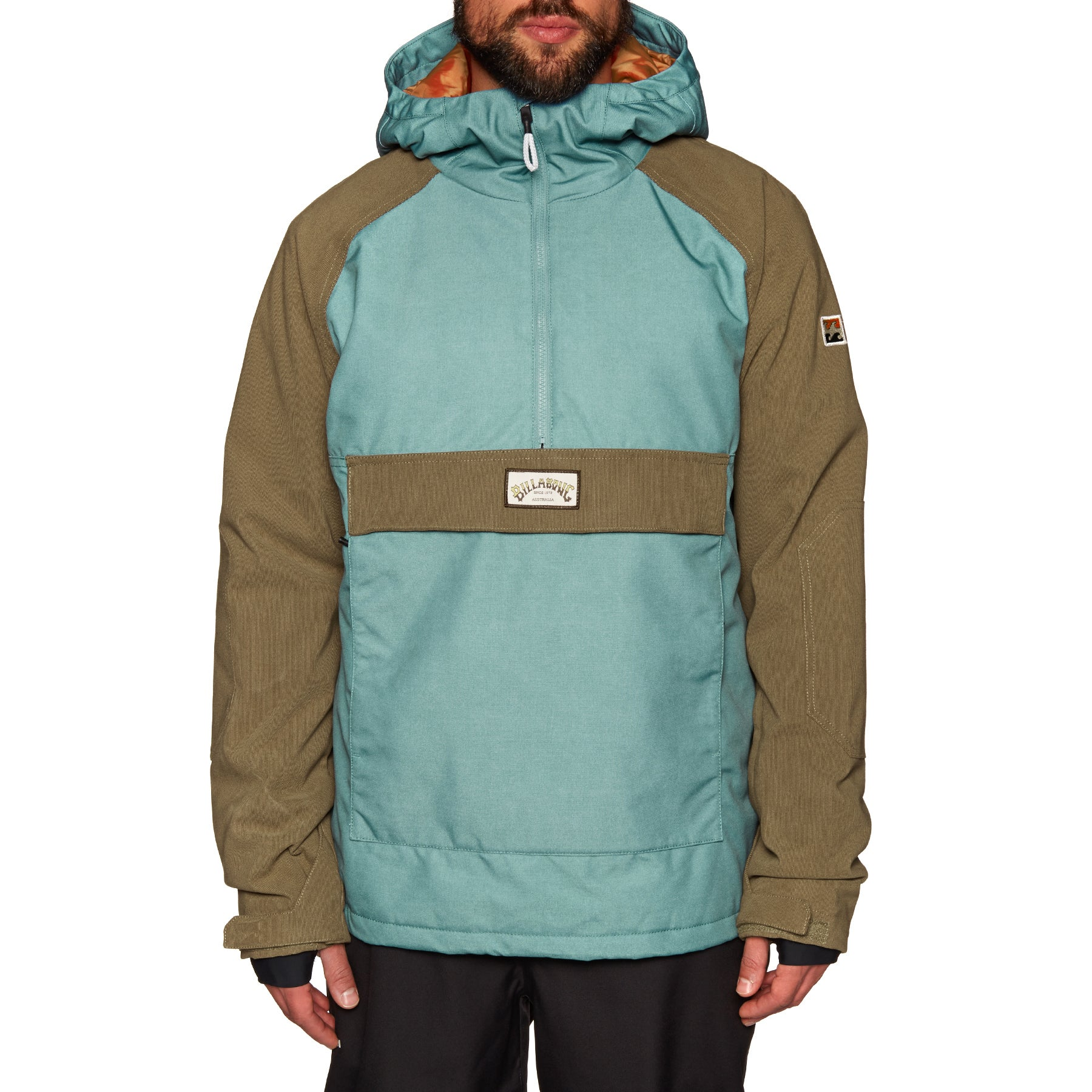 Billabong Stalefish Anorak Snow Jacket - Arctic