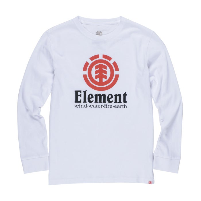 Element Vertical Raglan Boys Long Sleeve T-Shirt