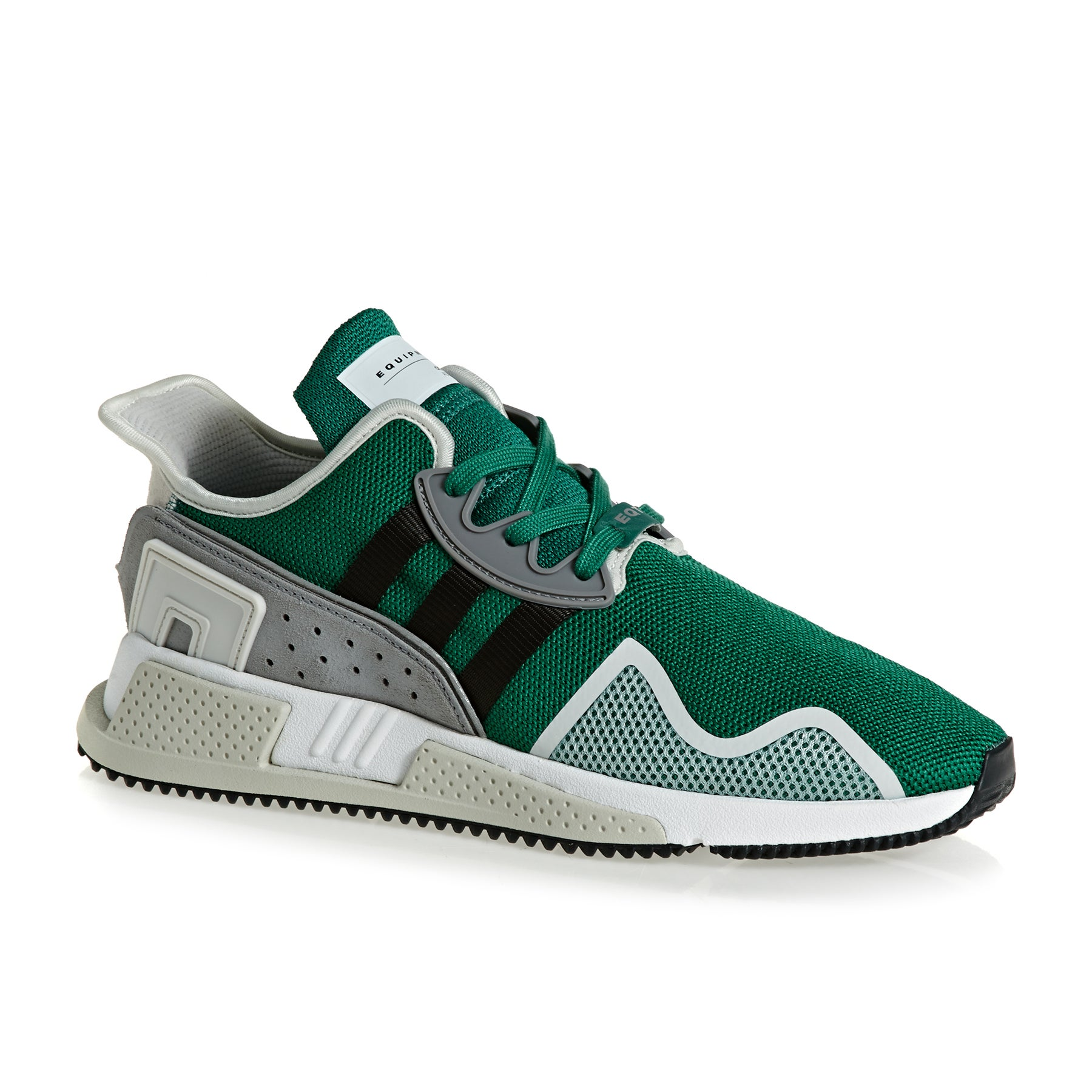 Adidas Originals EQT Cushion Adv Shoes - Green Black Grey