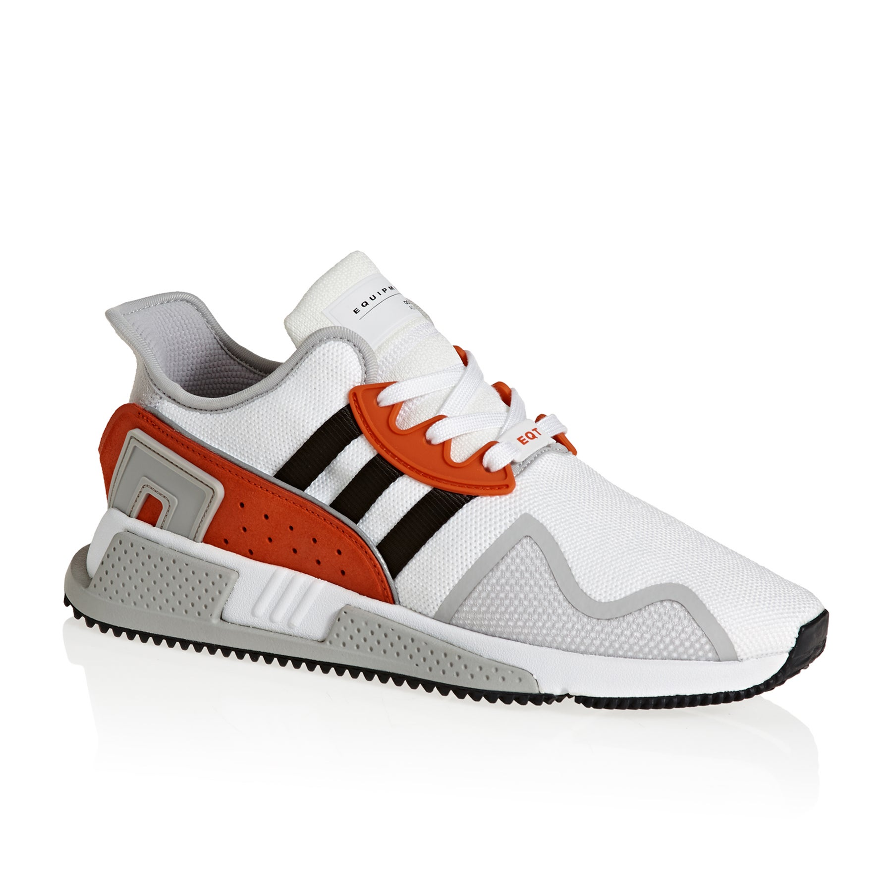 Adidas Originals EQT Cushion Adv Shoes - White Black Red