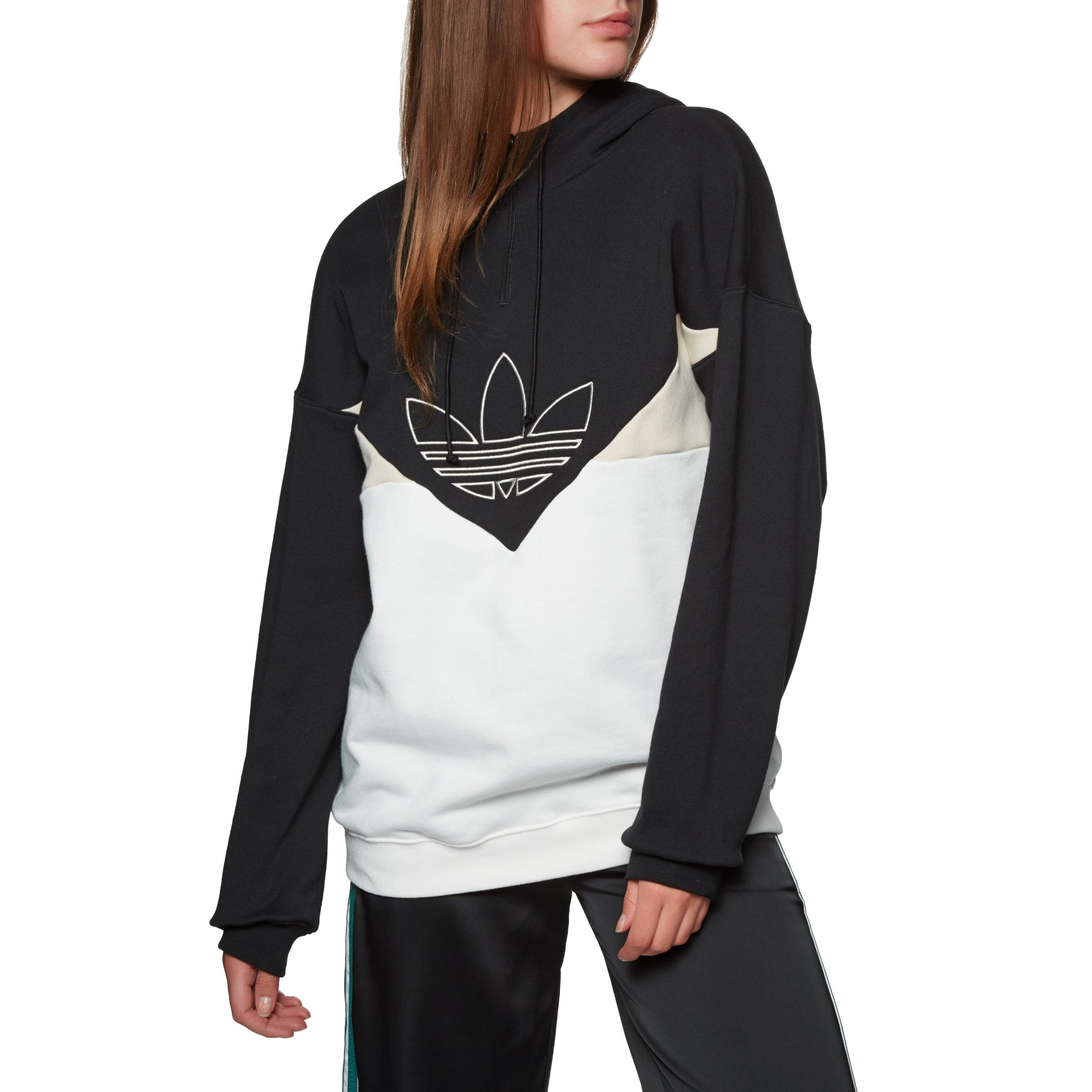 4cf9b291 Adidas Originals OG Womens Pullover Hoody - Free Delivery options on ...
