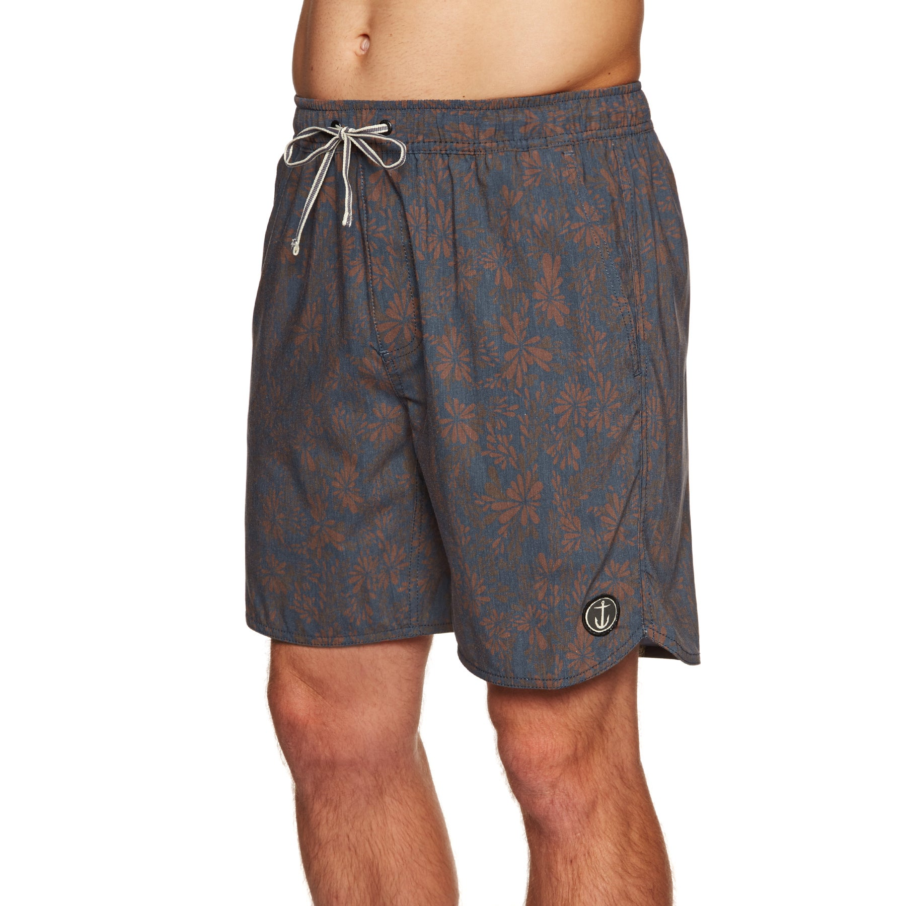 Bermudas Captain Fin Tropical Wond - Rust