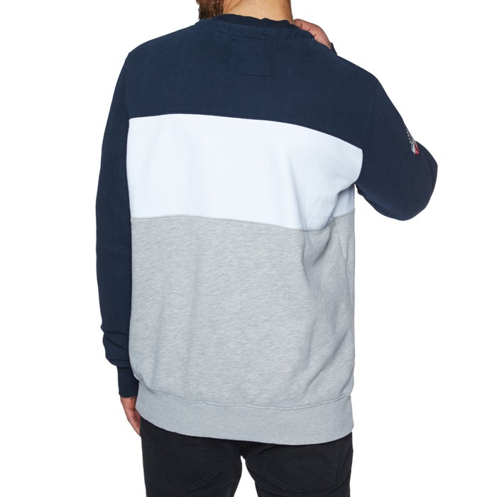 Superdry Academy Colour Block Crew Sweater