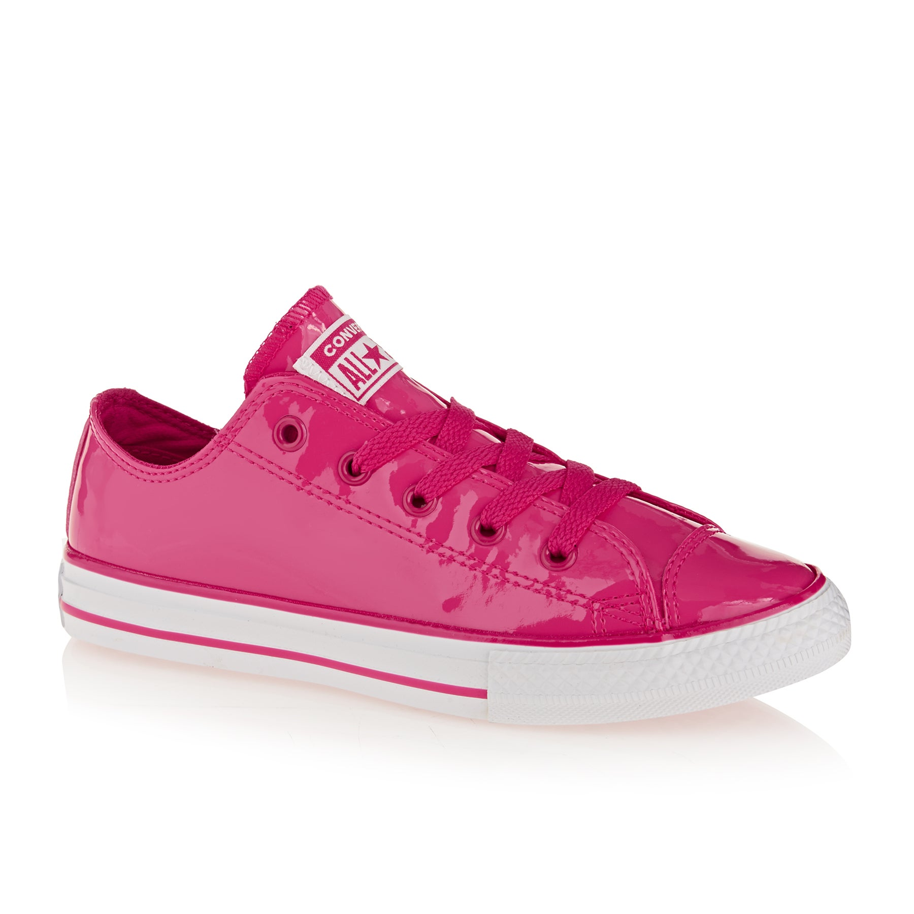 Converse Chuck Taylor All Stars OX Kids Shoes - Pink Pop Pink Pop White