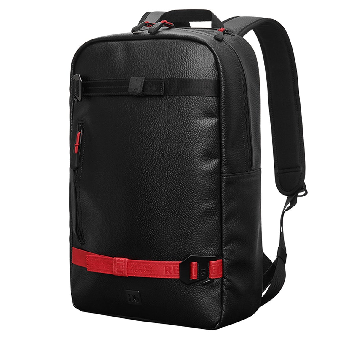 Douchebags Scholar Backpack - Black Pure Red Webbing