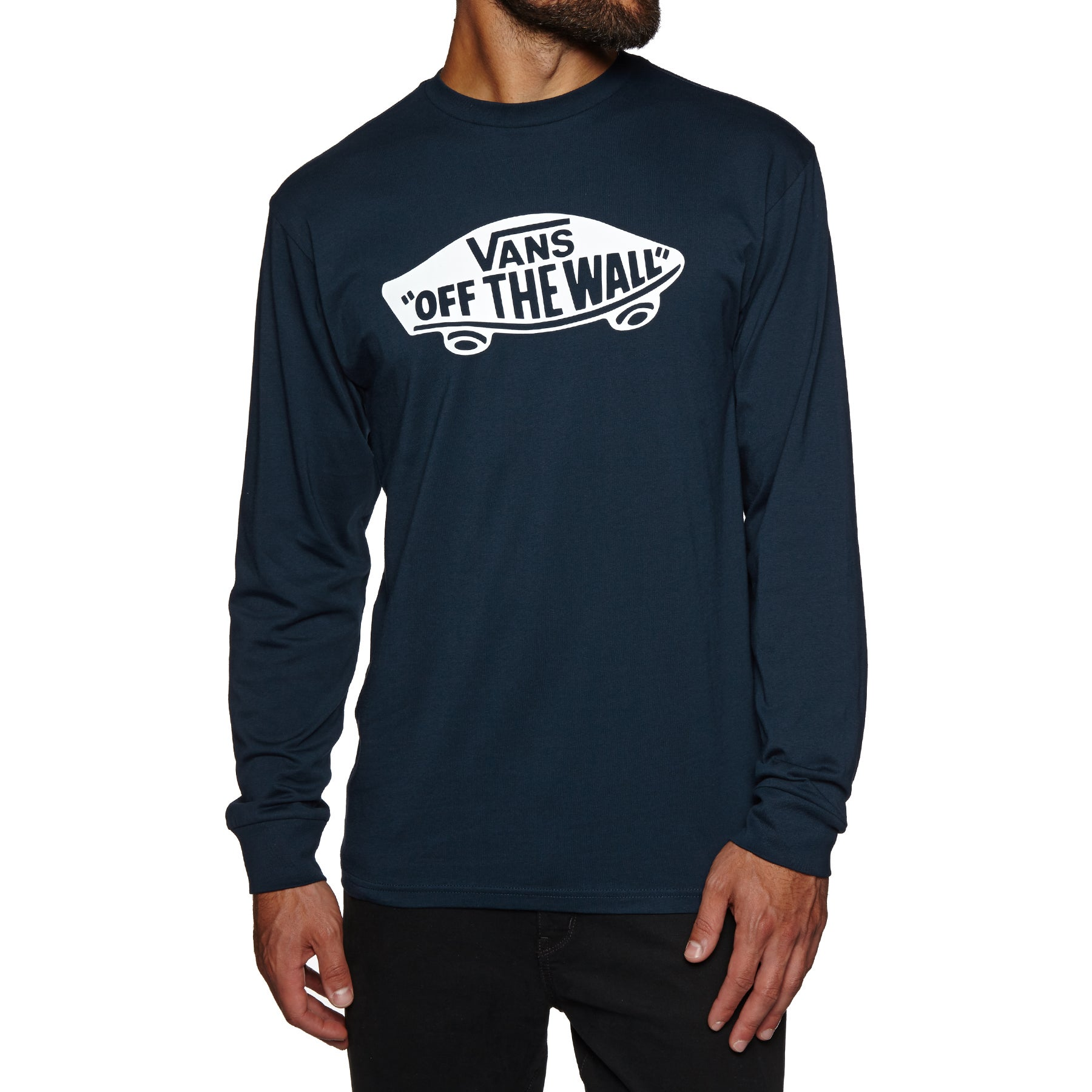 Vans OTW Long Sleeve T-Shirt - Navy White