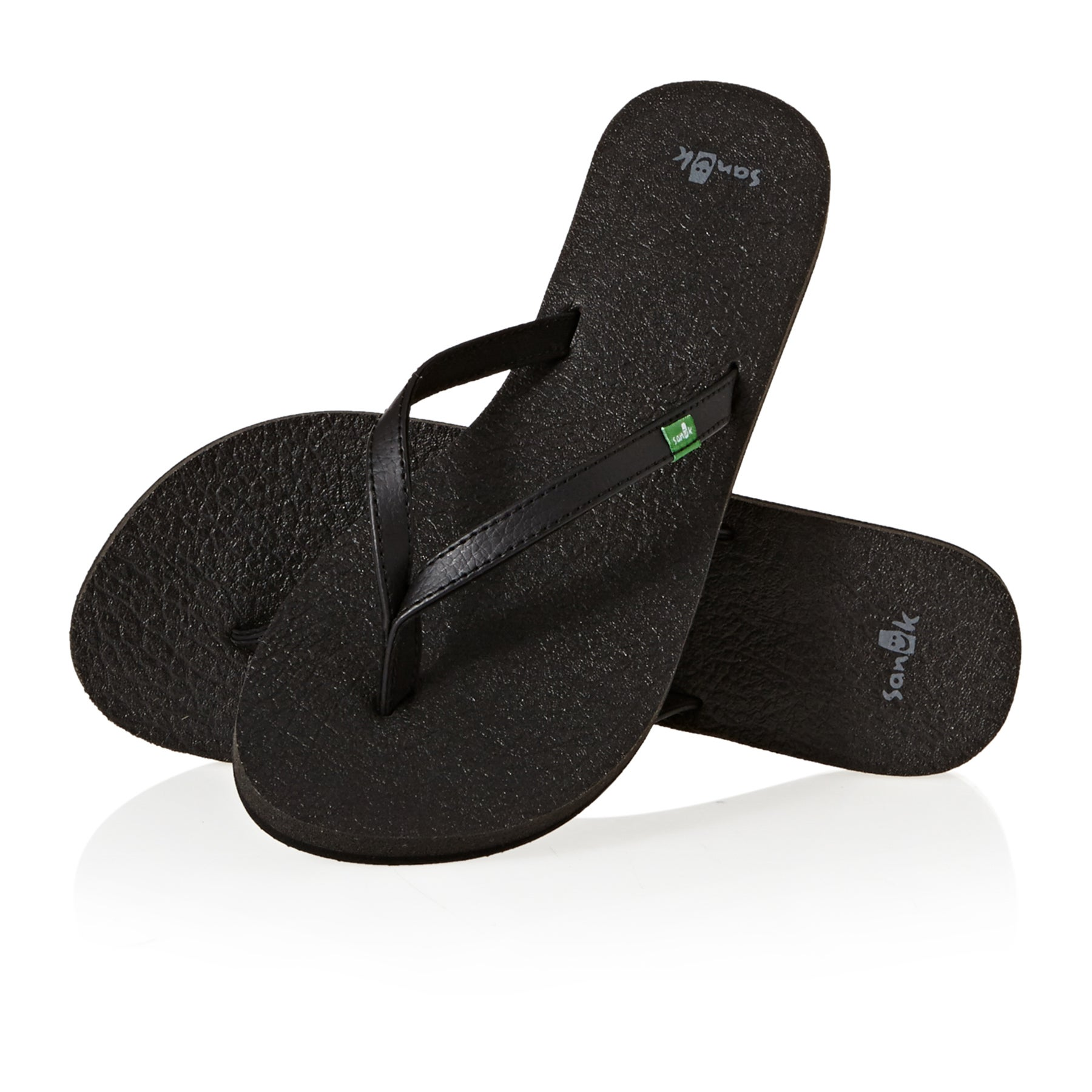 Sanuk W Yoga Spree 4 Womens Sandals - Black