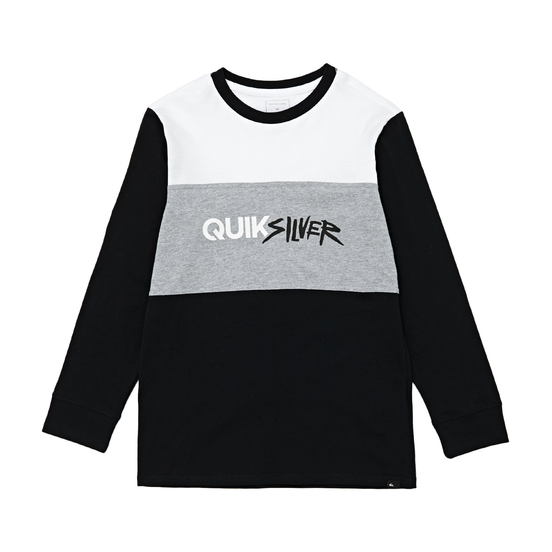 Quiksilver Opposite Attract Boys Long Sleeve T-Shirt - White