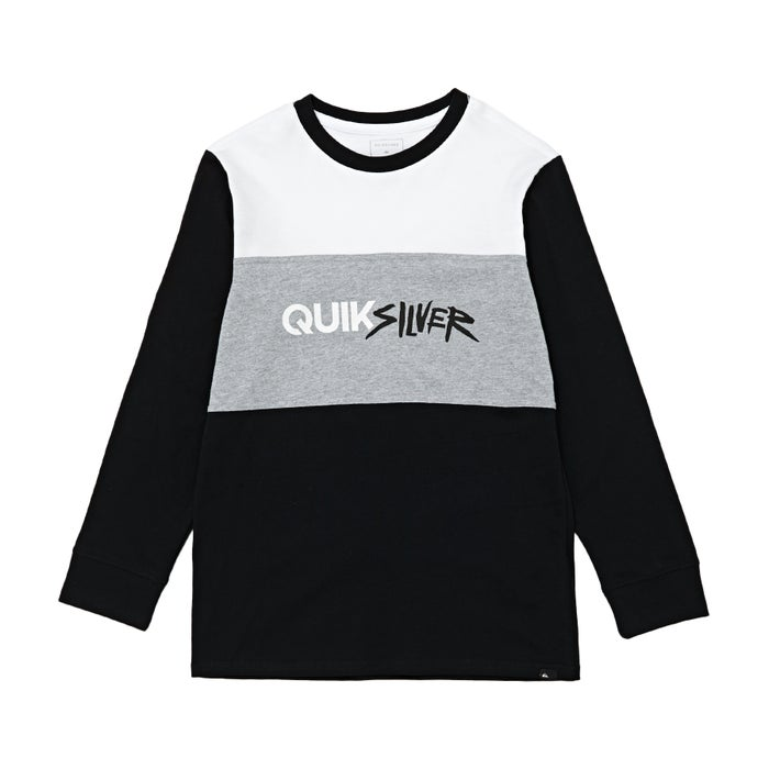 Quiksilver Opposite Attract Boys Long Sleeve T-Shirt