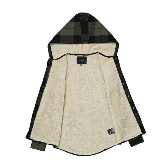 Camisa Boys SWELL Protest Hooded