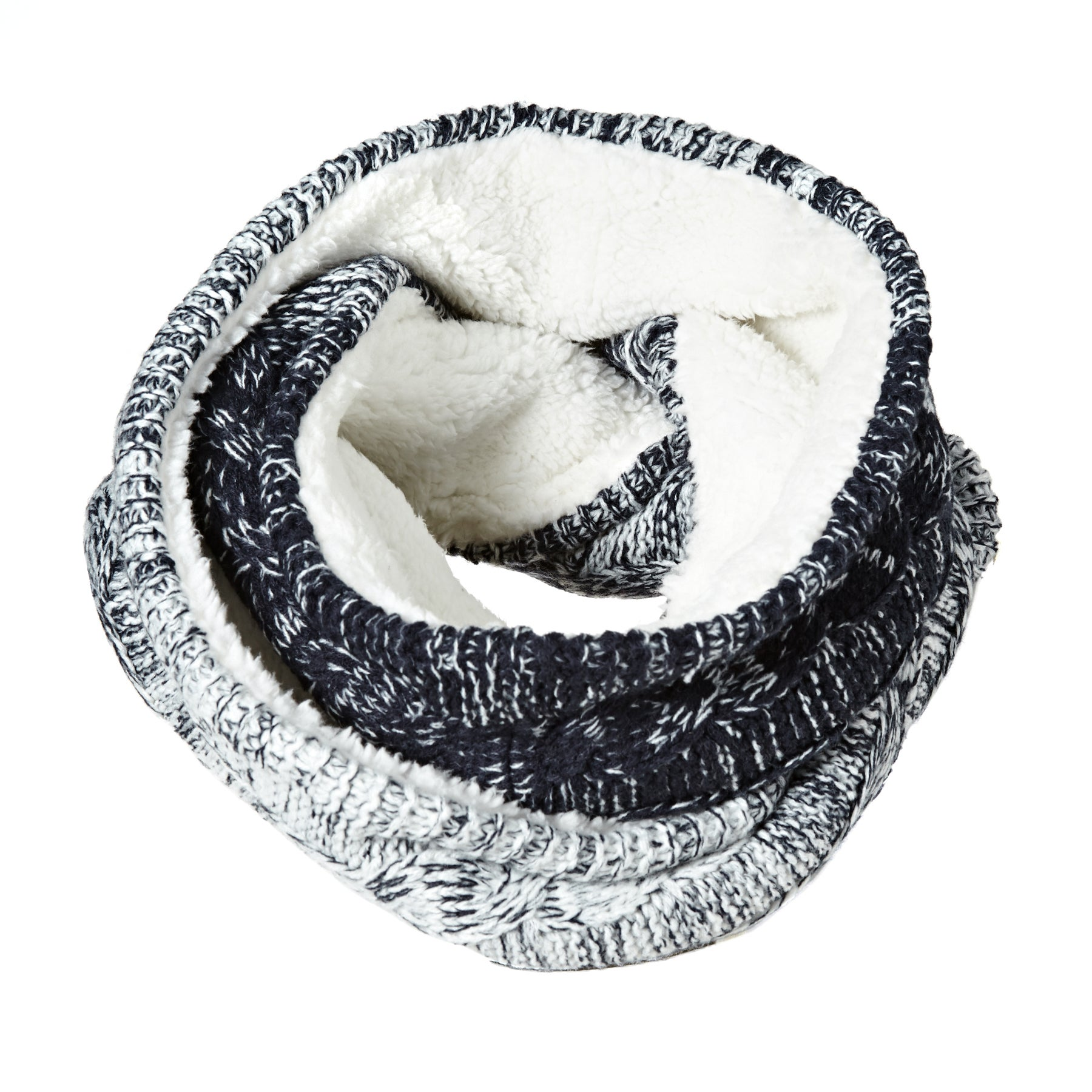 Polaina Senhora Superdry Clarrie Cable Snood - Denim Ombre