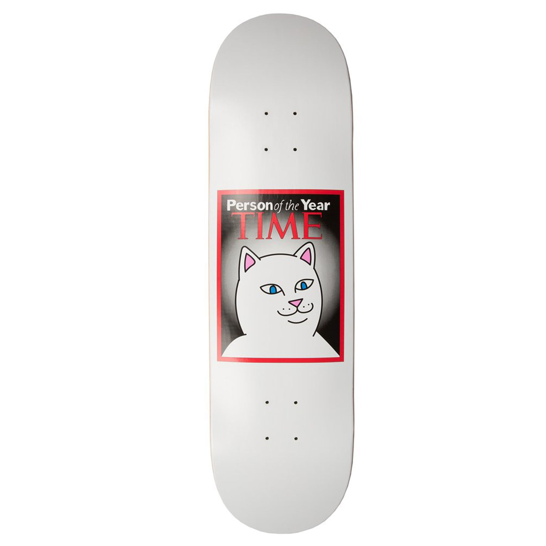 Planche de Skateboard Rip N Dip Nerm Of The Year Various Sizes - White