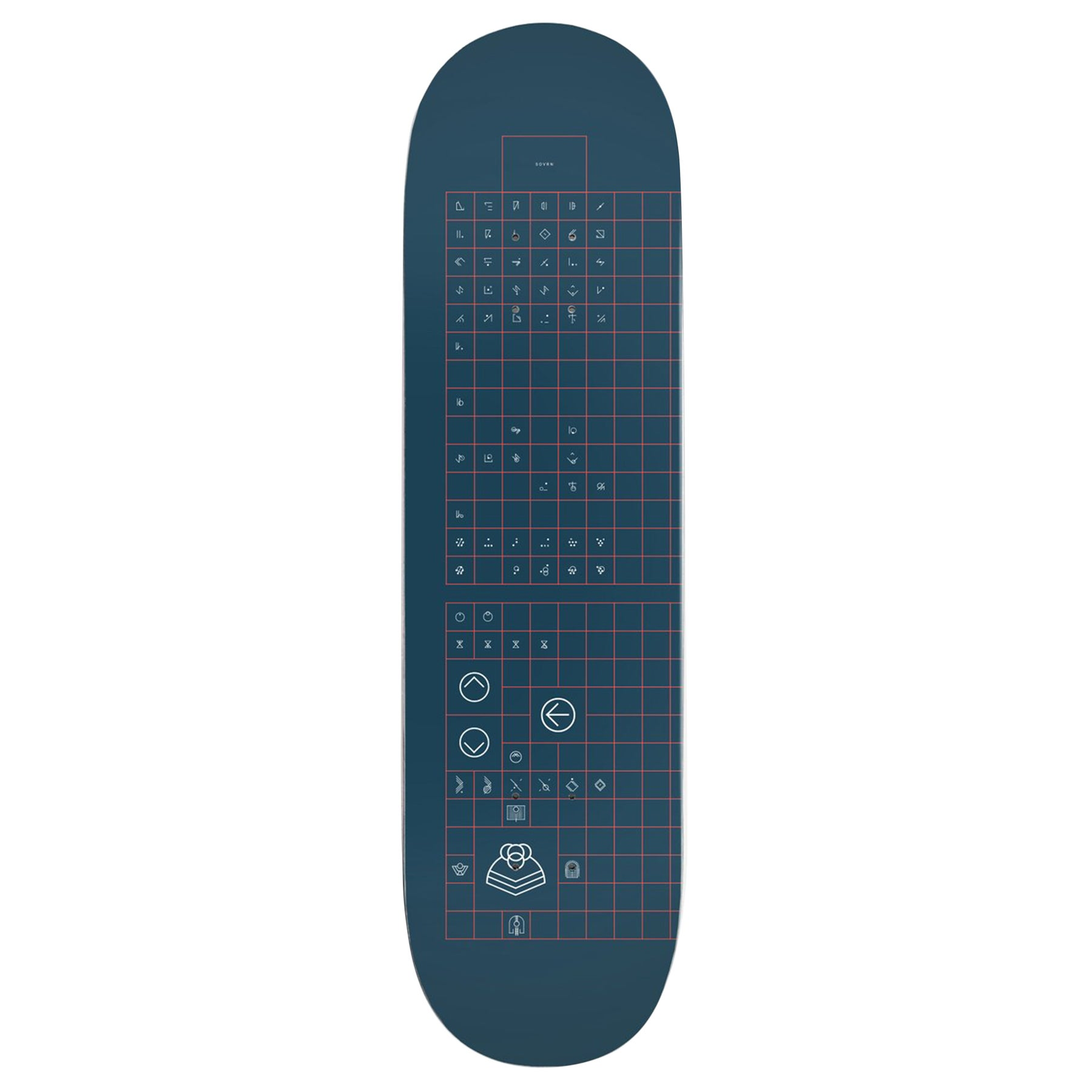 SOVRN Filtrate 8.25 Inch Skateboard Deck - Multicolour