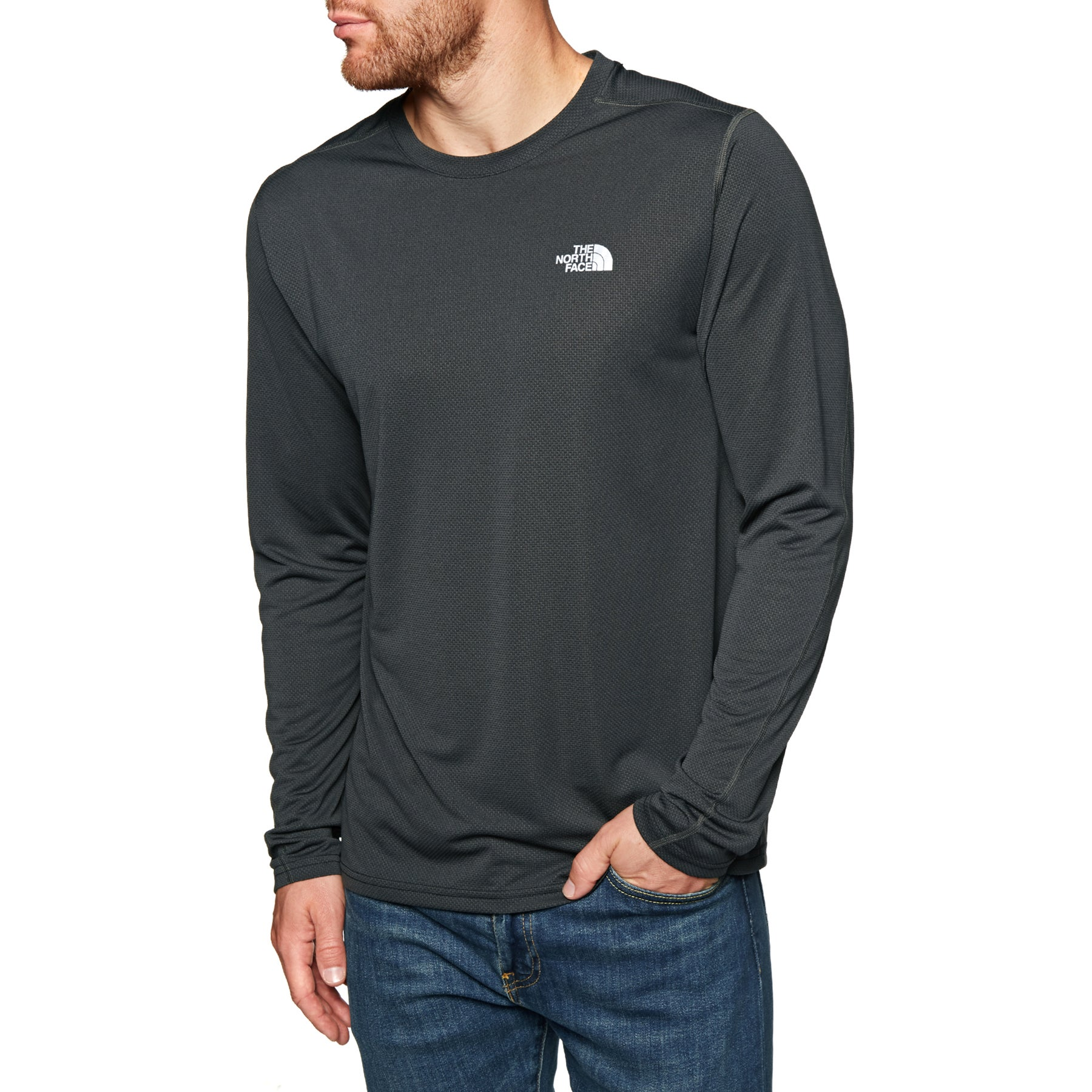 11ee93a2e North Face 24 7 Tech LS Running Top - Free Delivery options on All Orders  from Surfdome