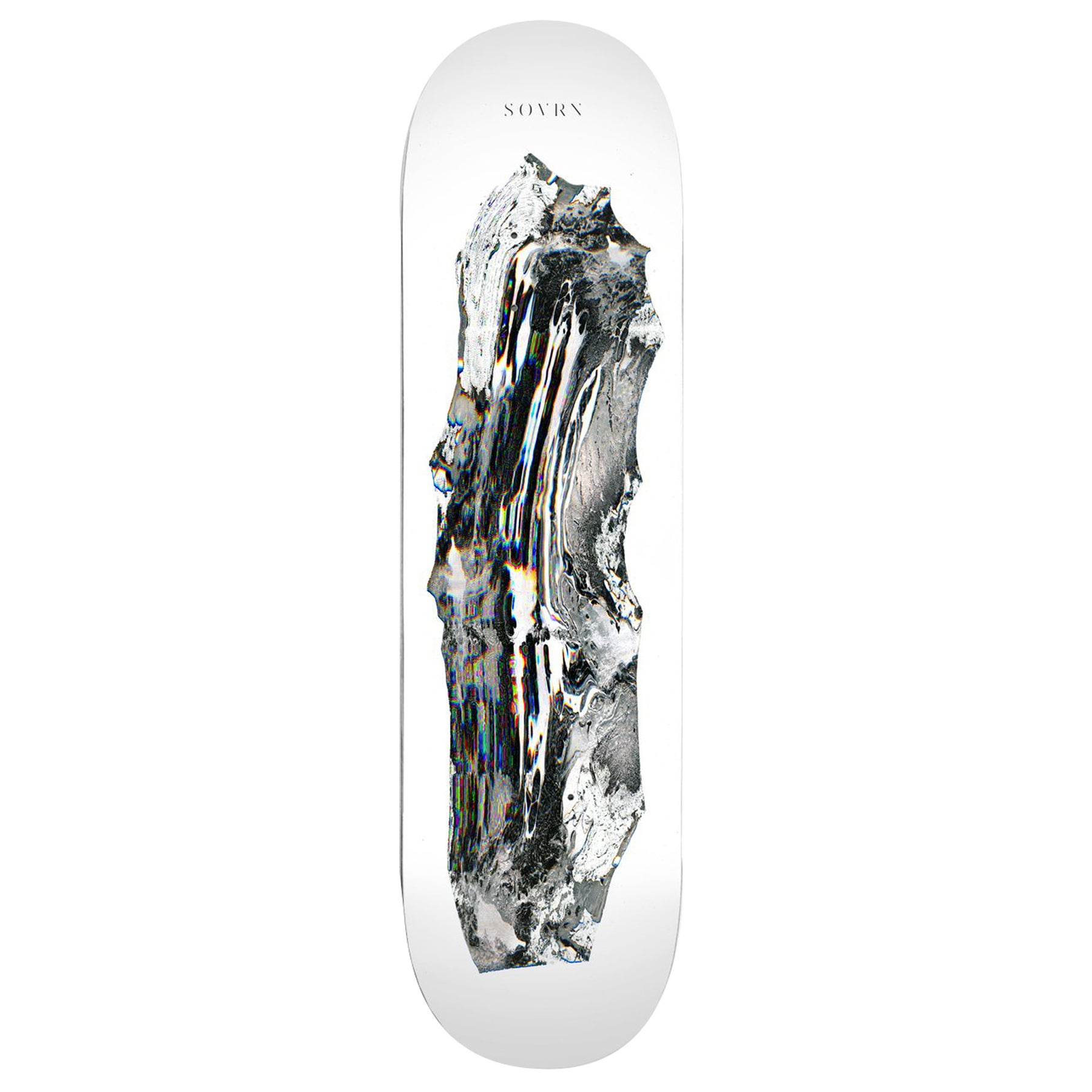 SOVRN Tonal Renderings Two 8.18 Inch Skateboard Deck - Multicolour