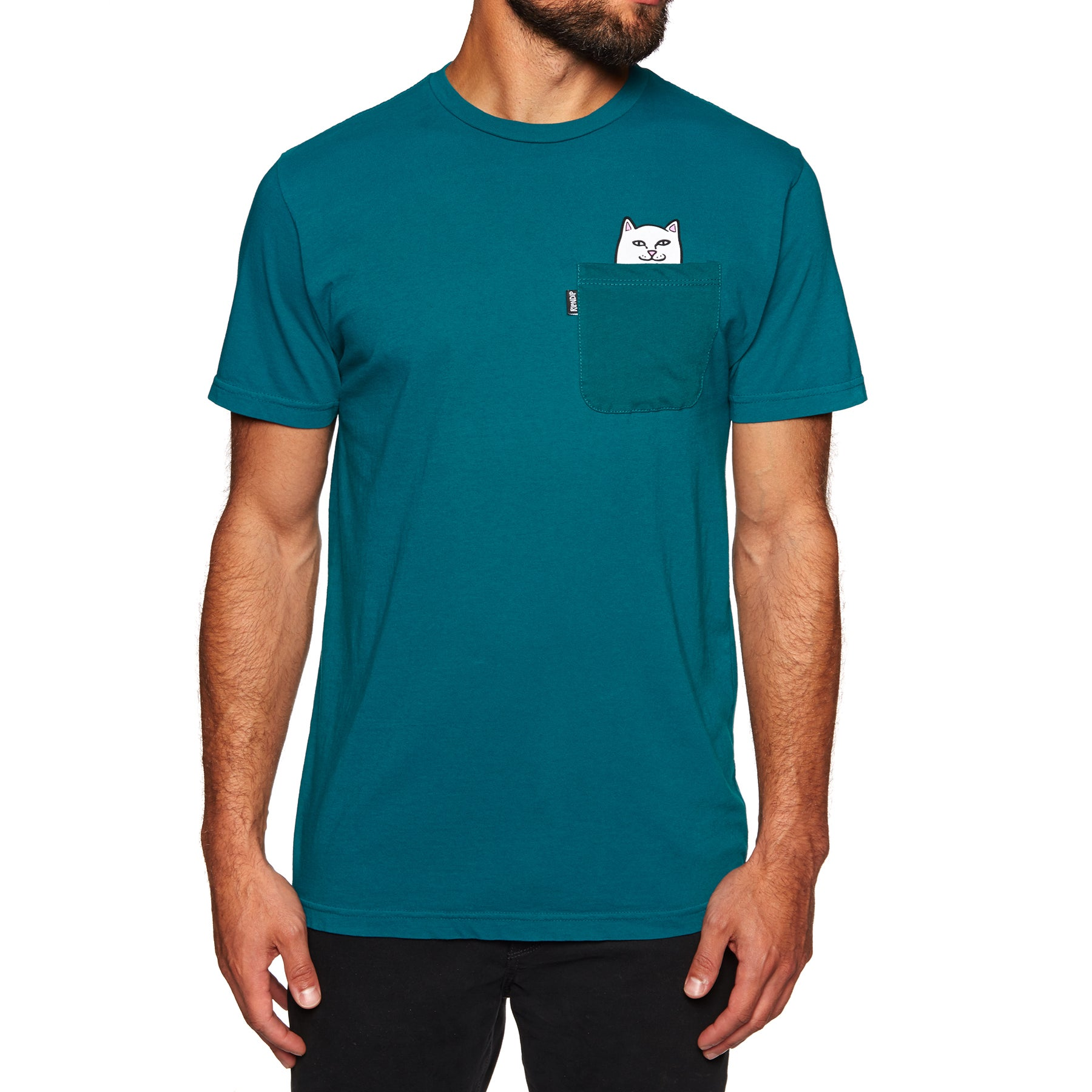 T-Shirt à Manche Courte Rip N Dip Lord Nermal Pocket - Aqua