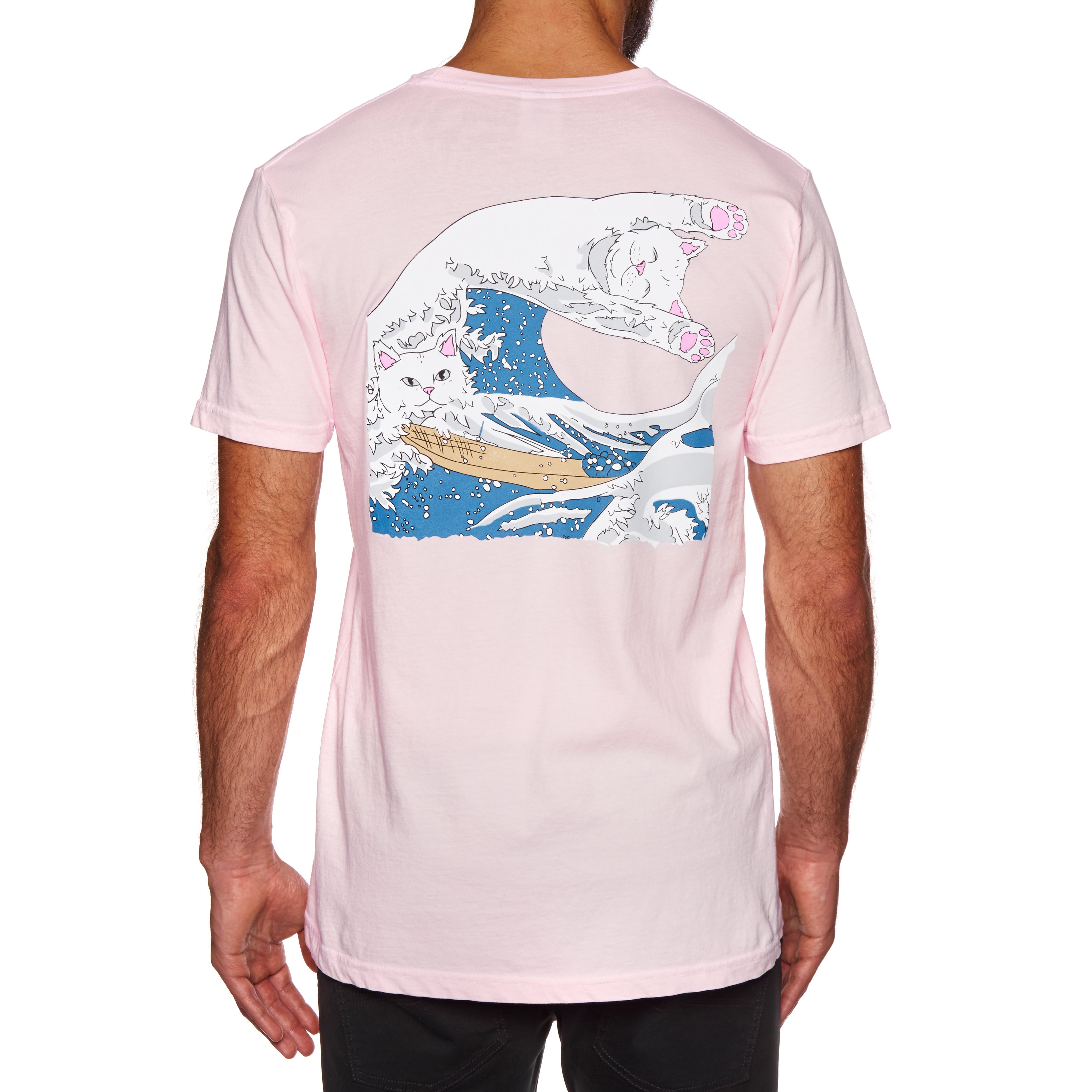 T-Shirt à Manche Courte Rip N Dip Great Wave - Blossom