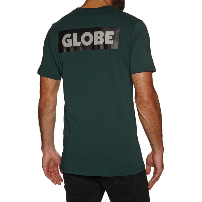 Globe Sticker Tee Ii Short Sleeve T-Shirt