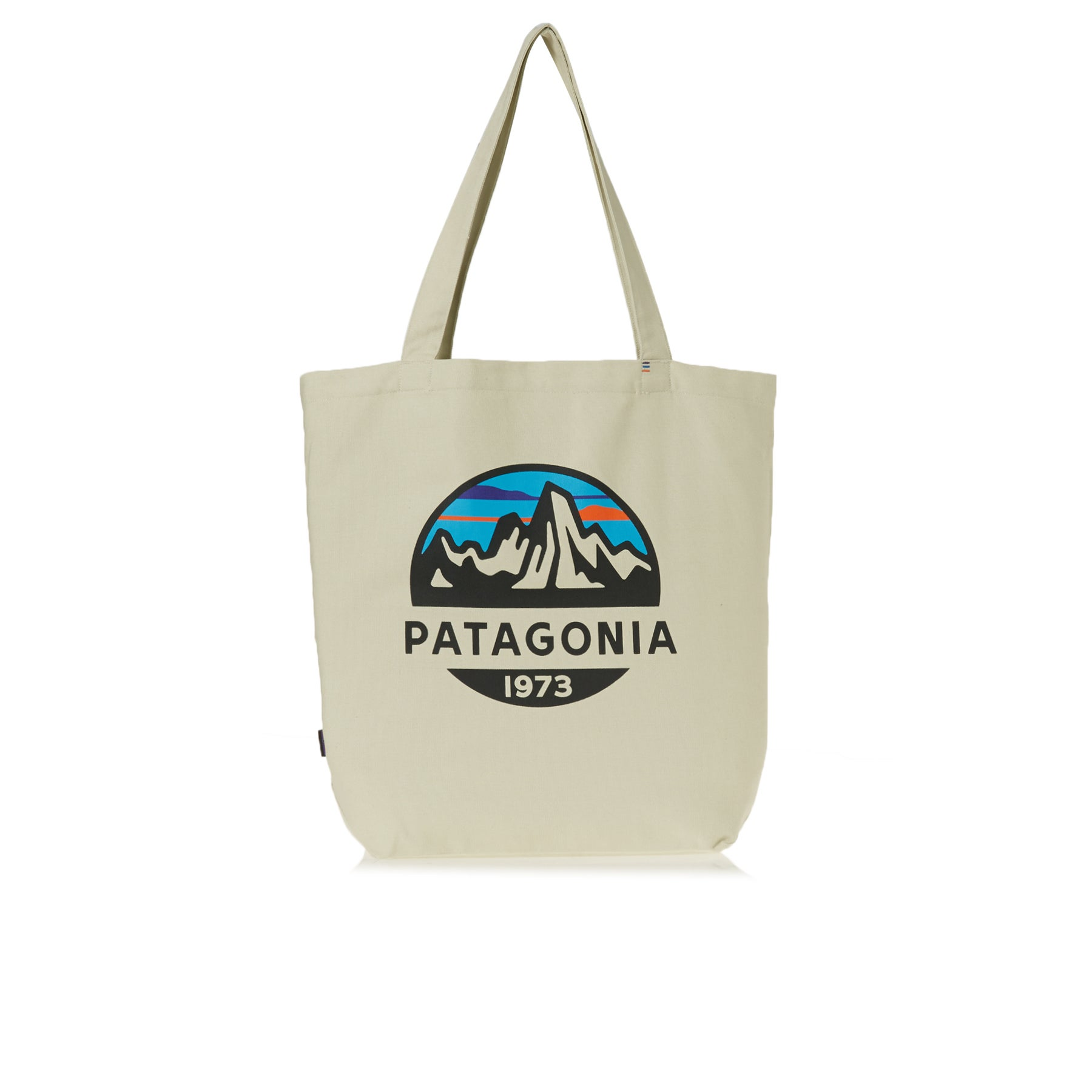 Patagonia Market Tote Shopper Bag - Fitz Roy Scope: Bleached Stone